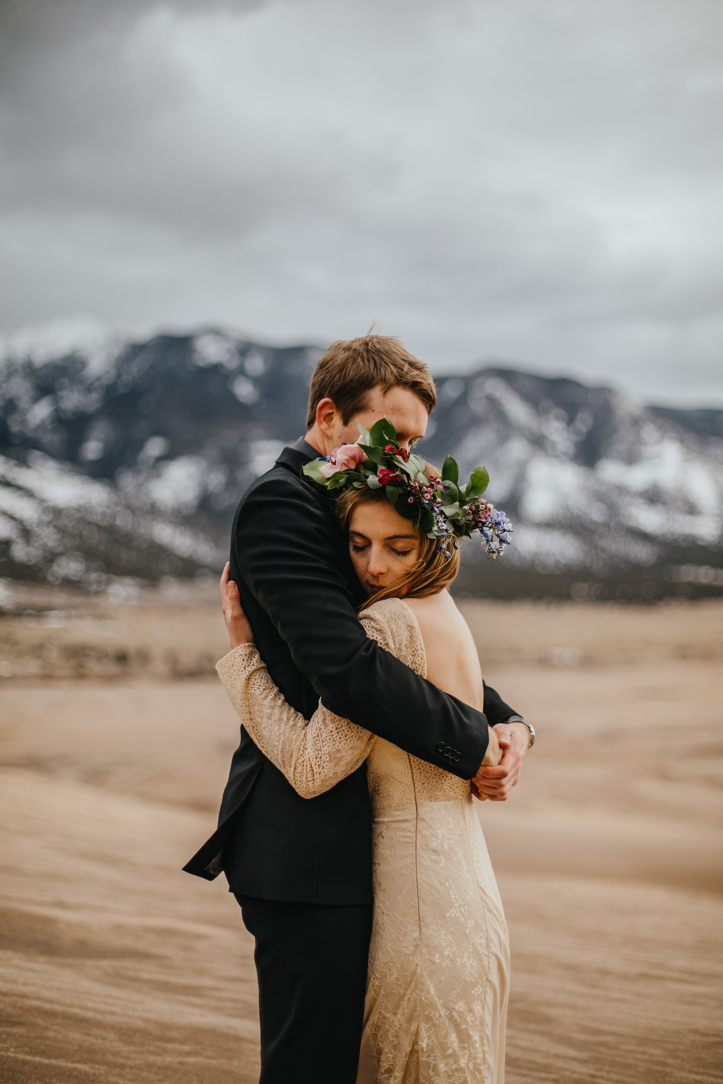 Great Sand Dunes National Park Colorado Styled Elopement