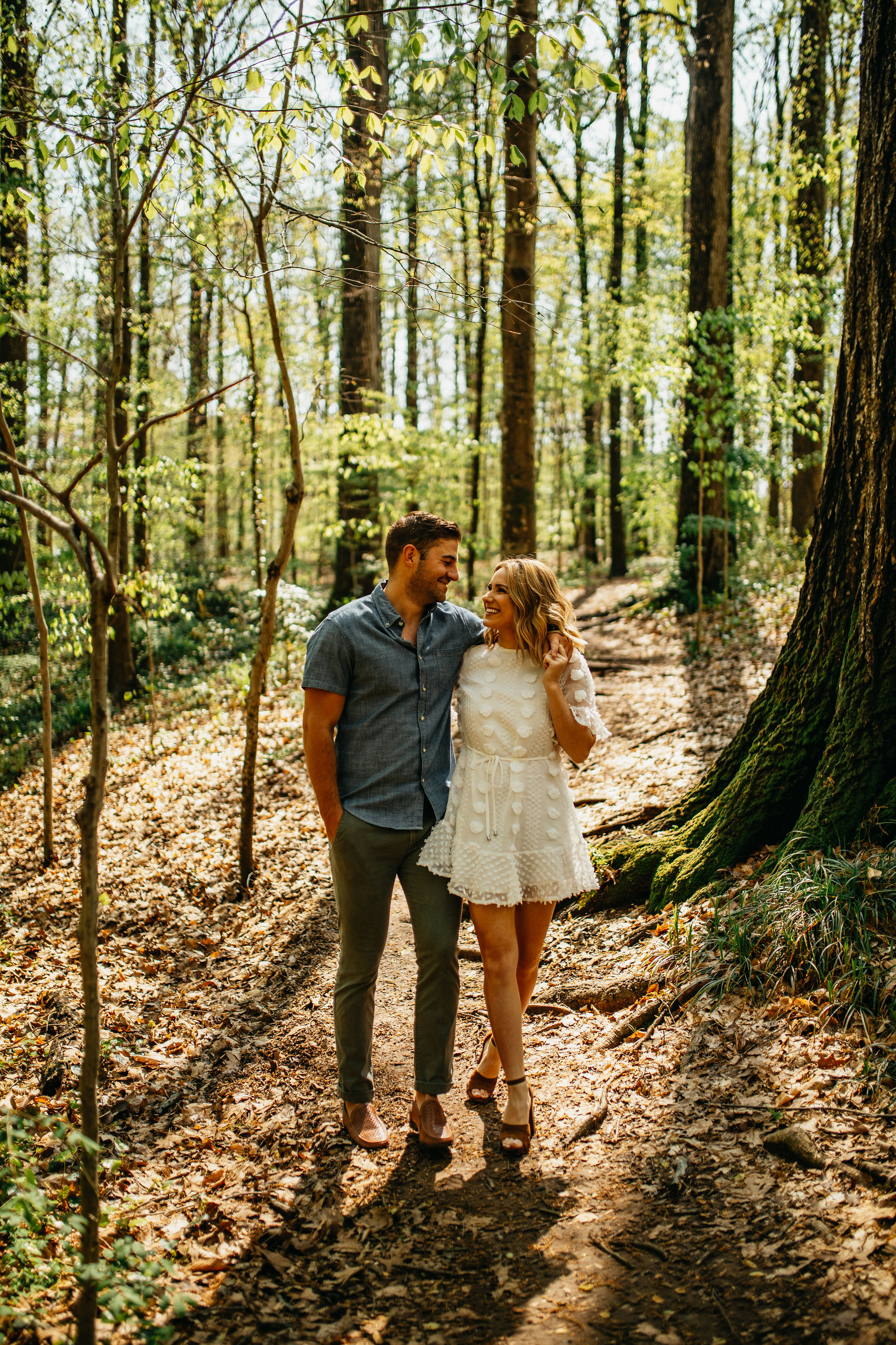 Foresty Engagement Photos