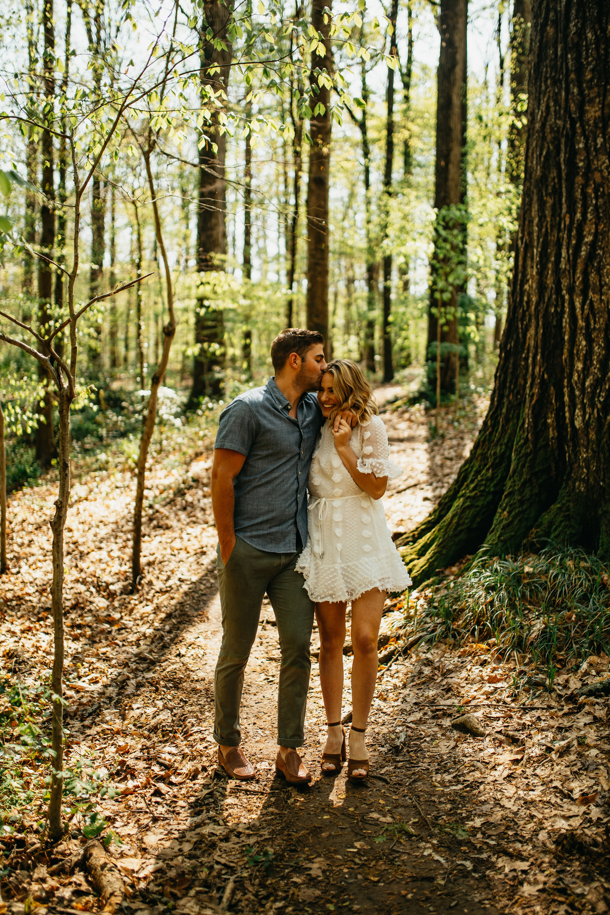 Georgia Forest Engagement Photos