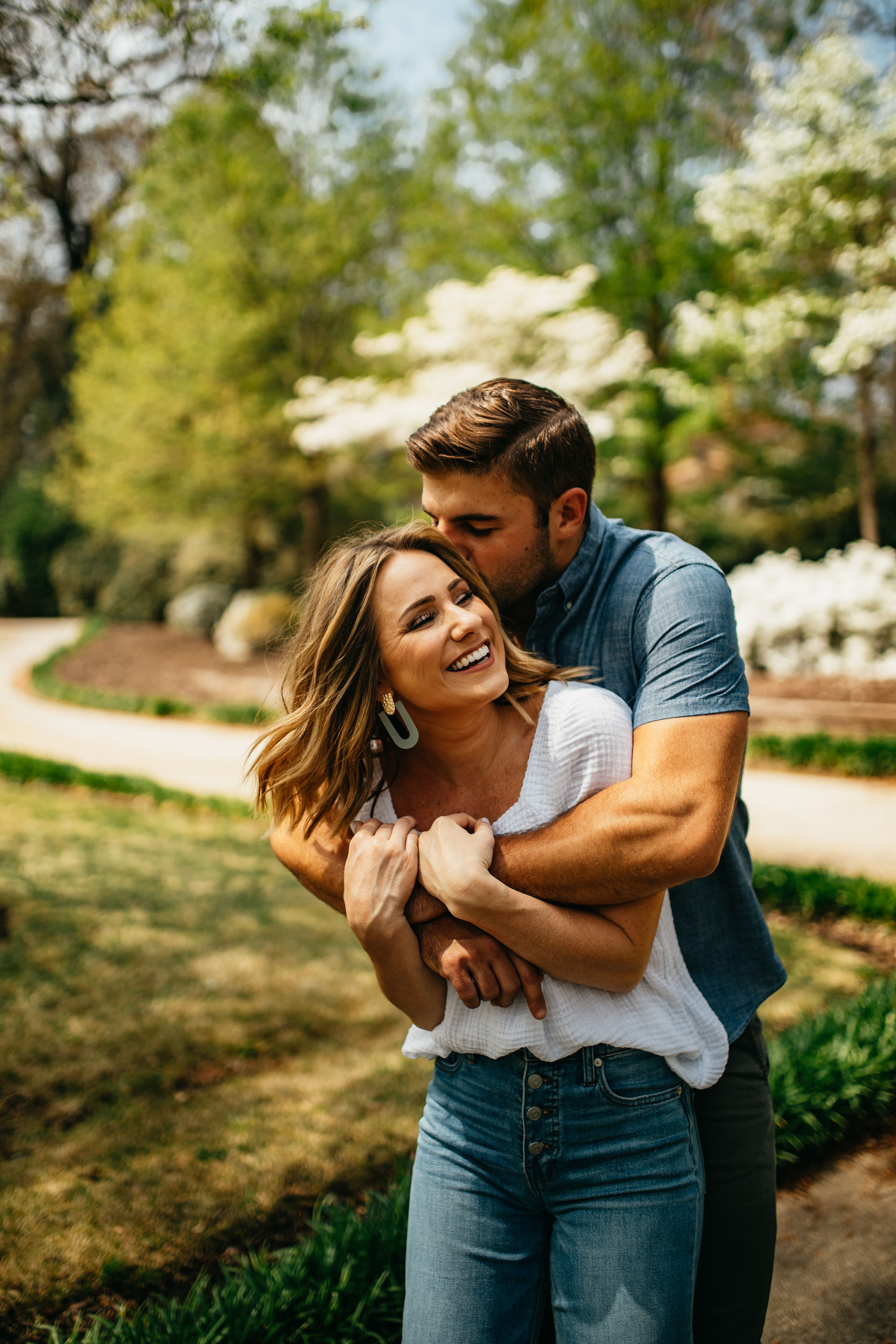 Spring in the South | Nature Atlanta Engagement Photos