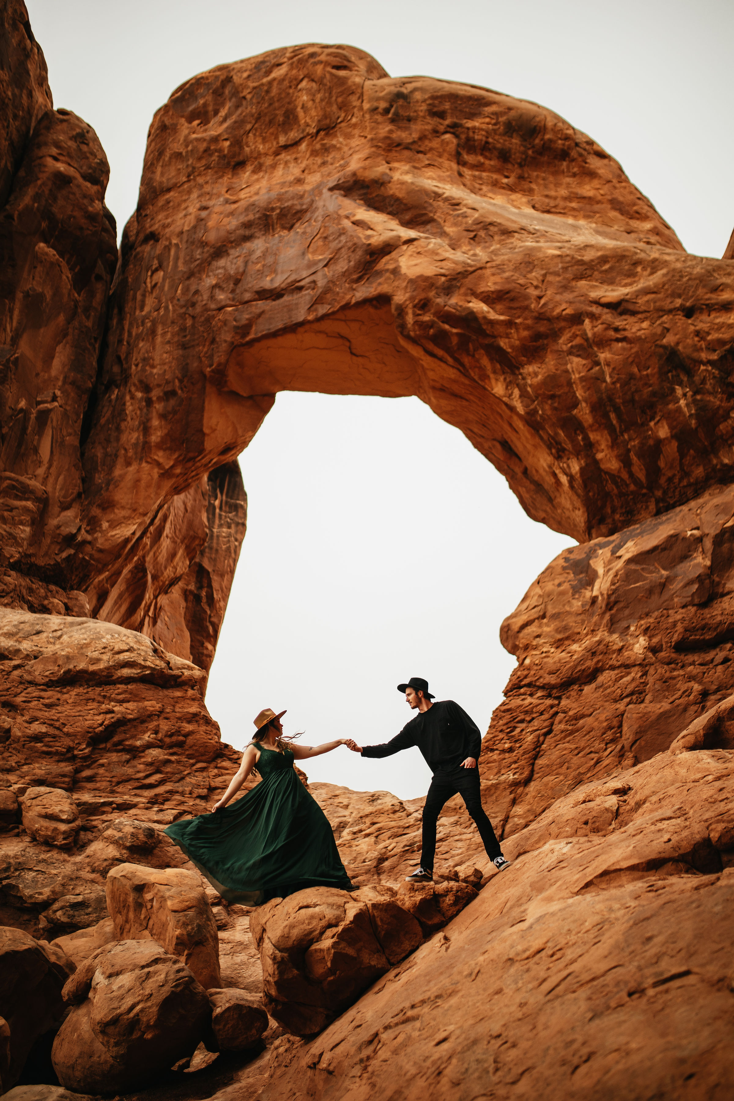 Engagement Photos in Arches National Park, Utah