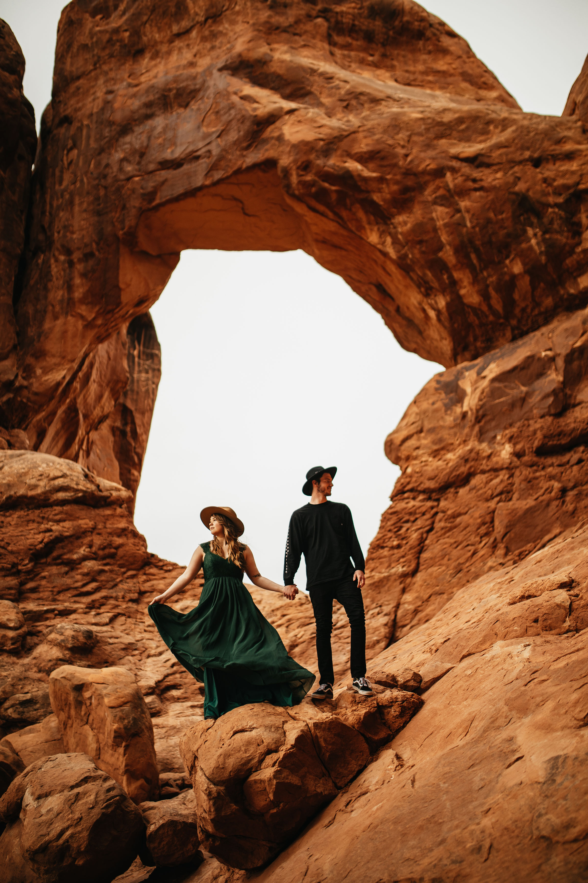 Couple Photography | Arches National Park, Utah