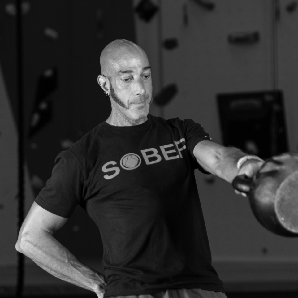 LEE SOARES  | COACH  Lee found CrossFit over 10 years ago and brings 10 years of CrossFit coaching experience and 15 years of personal training experience. Lee has a love for many forms of fitness and has spent many years active in martial arts, Taichi and rock climbing.  Lee is always striving to learn more as a coach and has had the opportunity to work with Chris Henshaw, Elijah Muhammad and Chris Spealler.  For the past three years Lee has been lucky enough to be a part of the Ultimate Hawaiian Trail Run and has helped to bring CrossFit to the kids of Hawaii.   CREDENTIALS  CrossFit Level 2 USA Weightlifting  Bean Town Barbell Olympic Lifting Certification ACE Certified Personal Trainer Be Your Own Bodyguard Certification  Endurance and Strongman Competitor CFNE East Coast Championship Judges Team