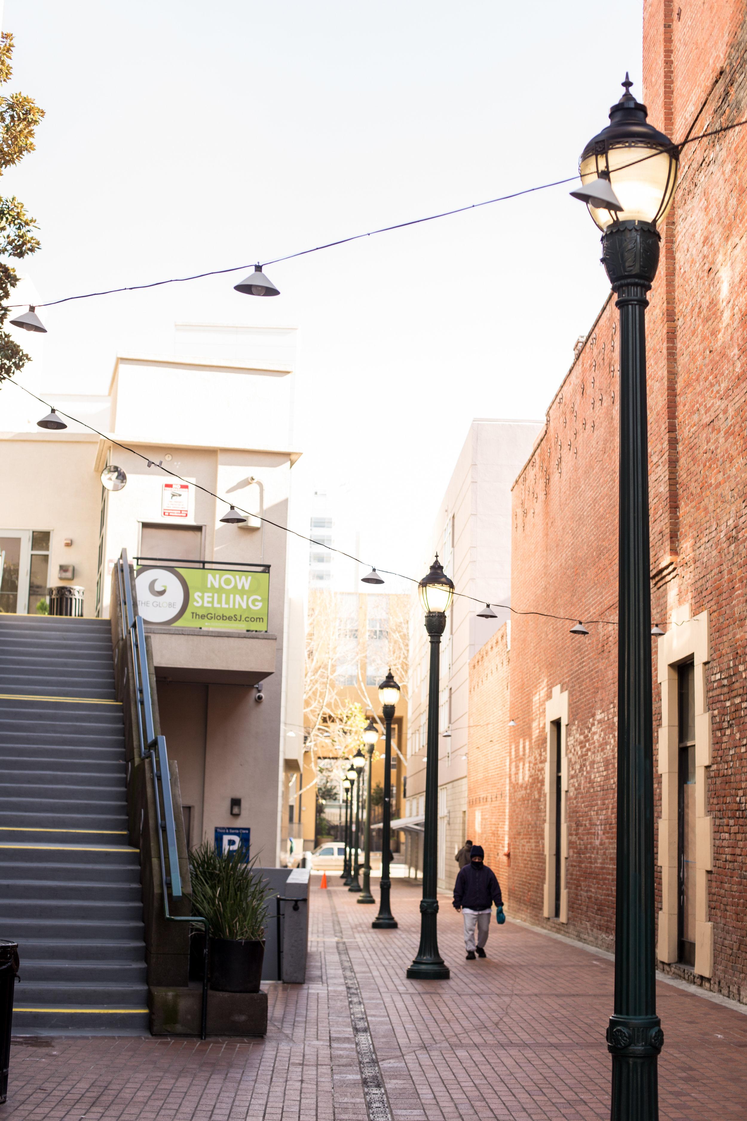 Downtown San Jose Alley