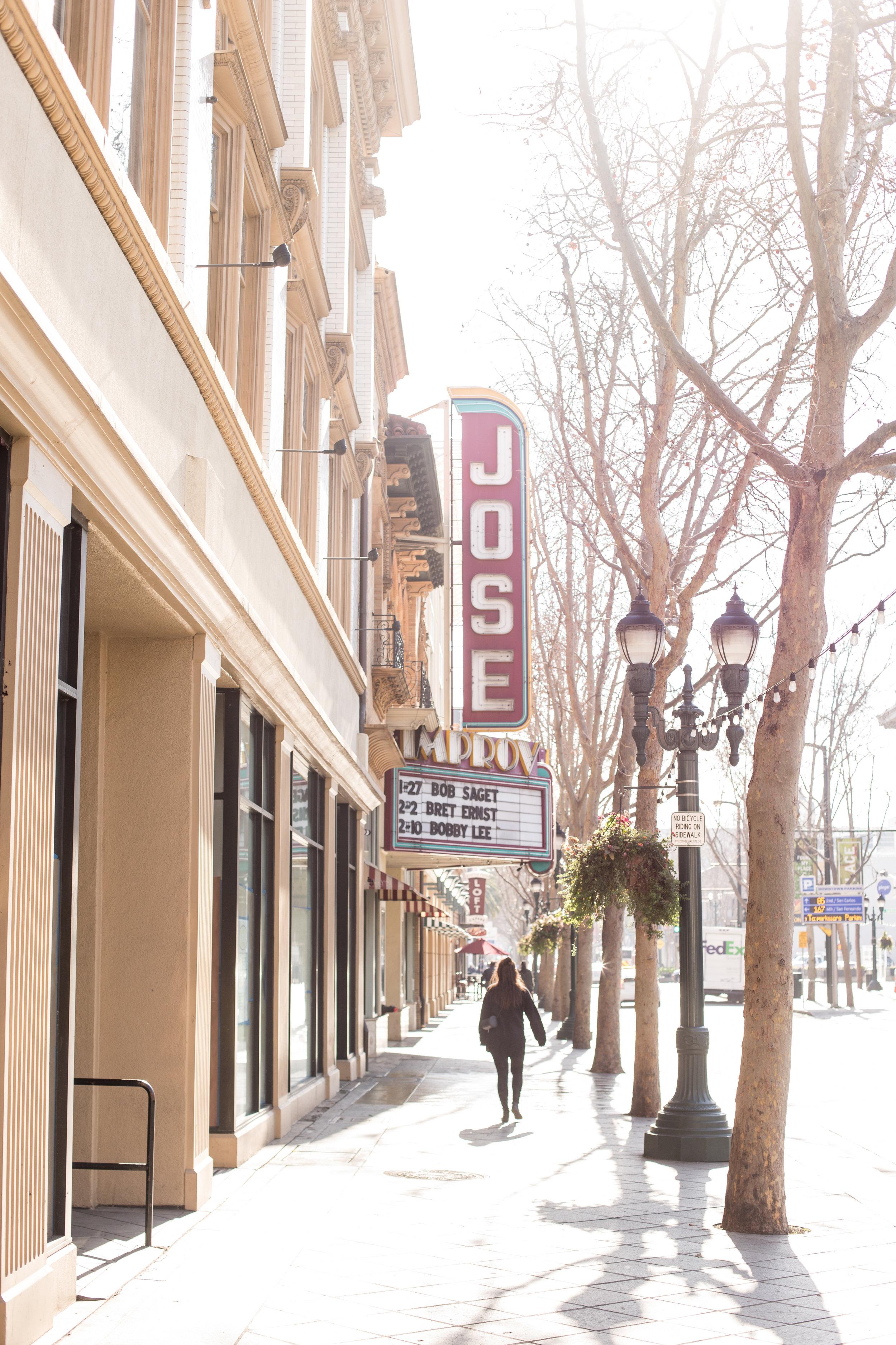 San Jose Improv in downtown