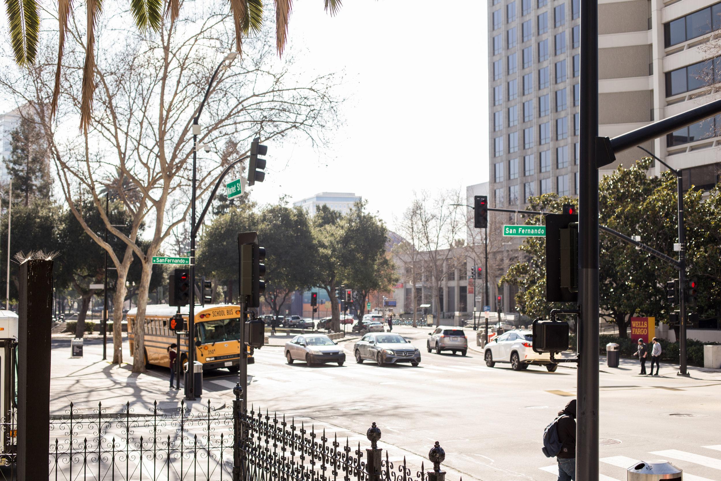 Downtown San Jose street shot