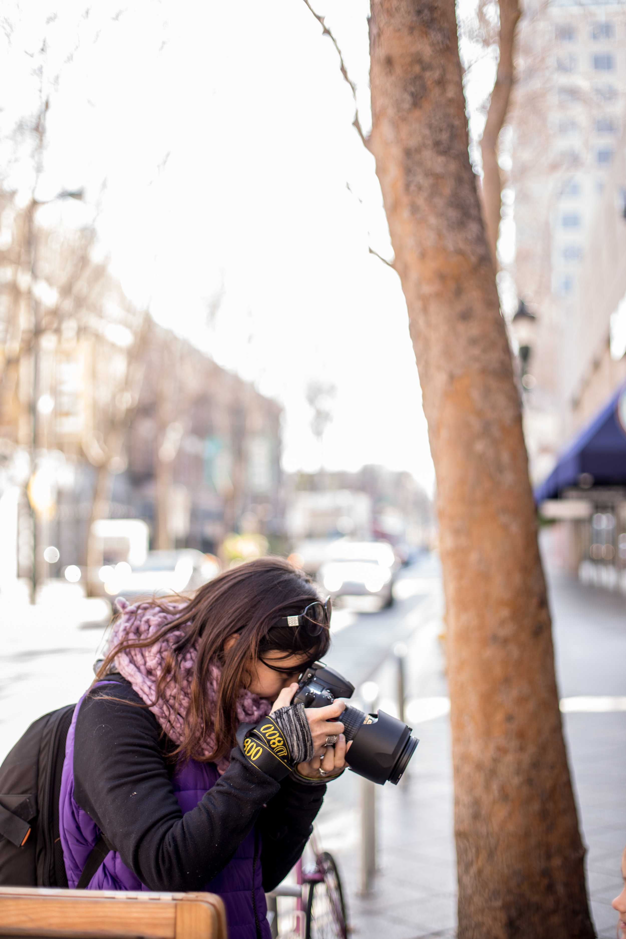 Ewa Samples Photography taking a photo