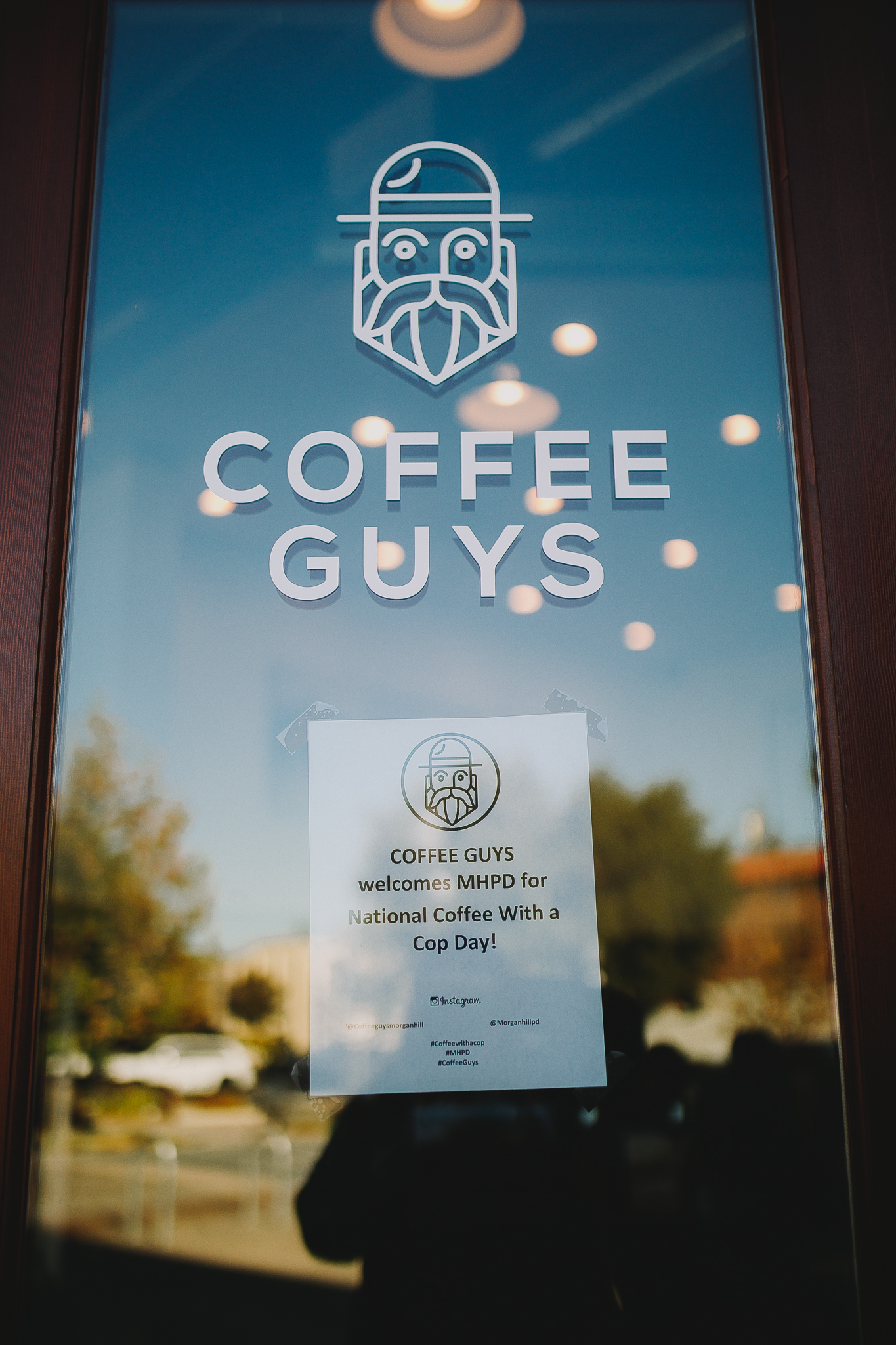 Coffee Guys downtown Morgan hill captured by Hailey Williams of Archer Inspired photography