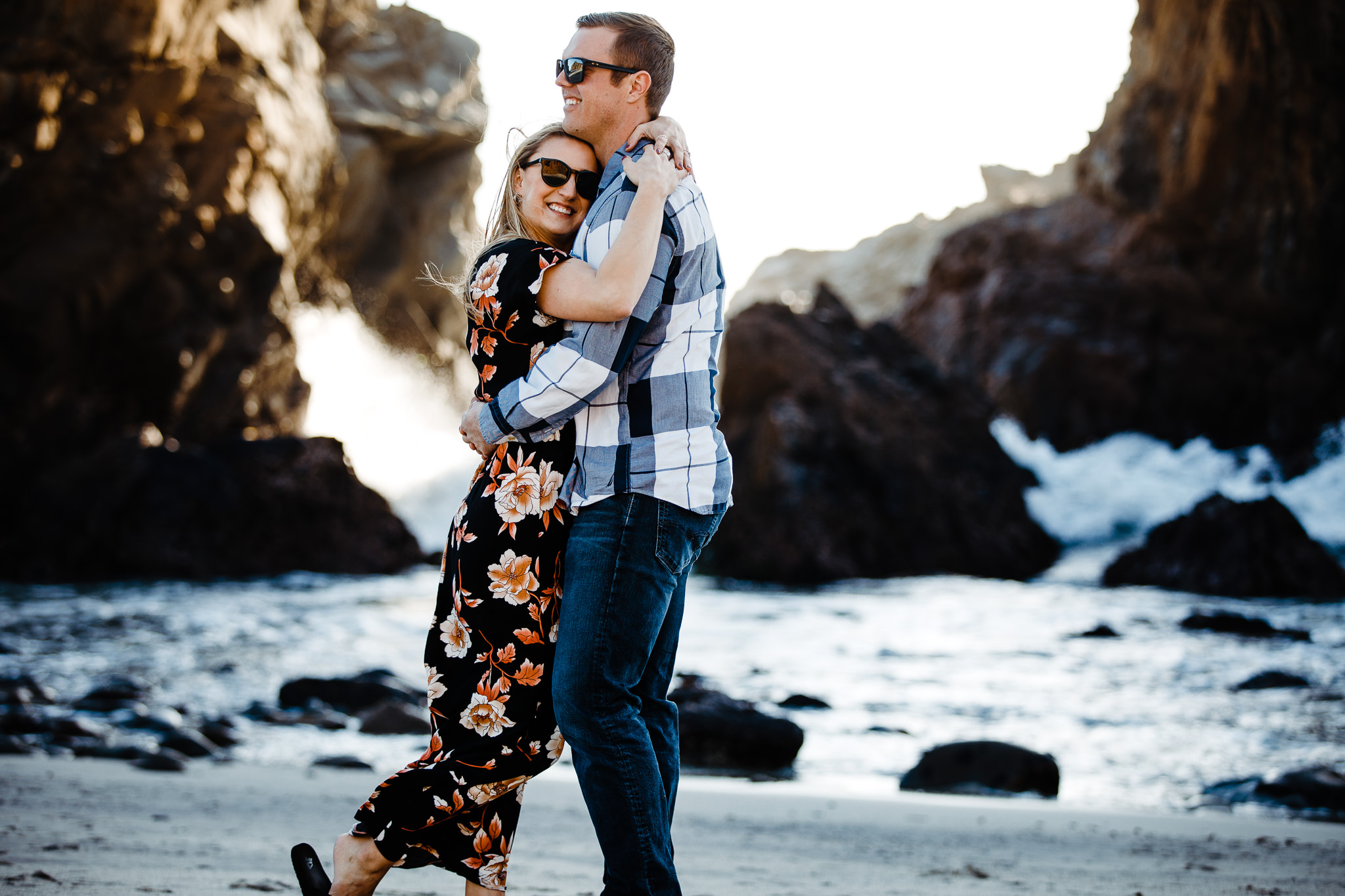 Archer Inspired Photography Michelle JJ Big Sur Wedding Engagement California Central Coast Lifestyle Documentary Photographer-56.jpg