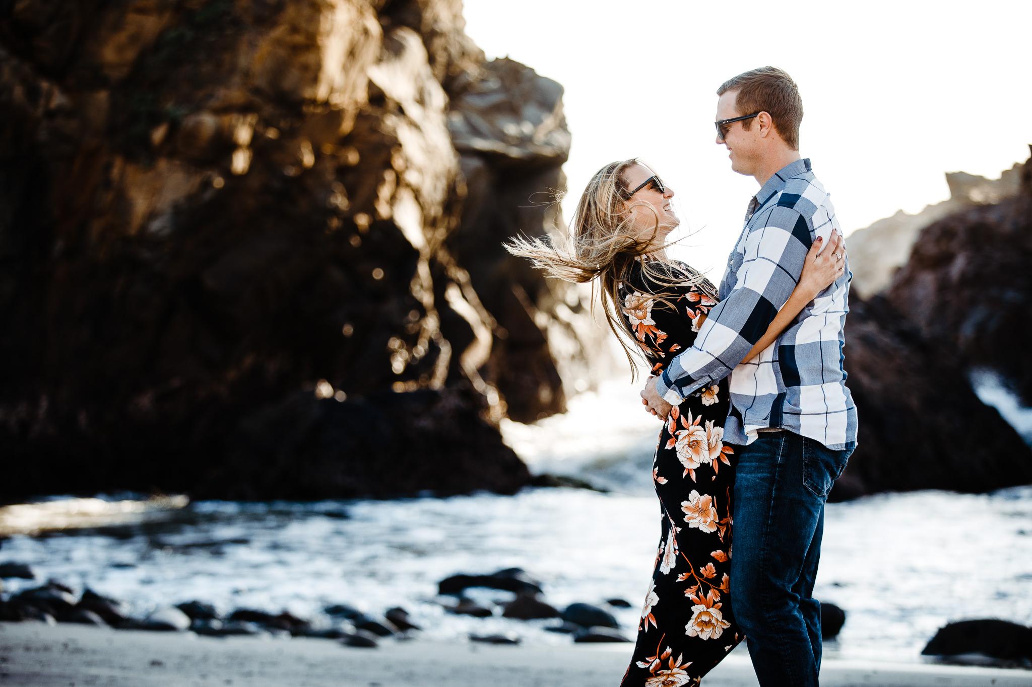 Archer Inspired Photography Michelle JJ Big Sur Wedding Engagement California Central Coast Lifestyle Documentary Photographer-57.jpg