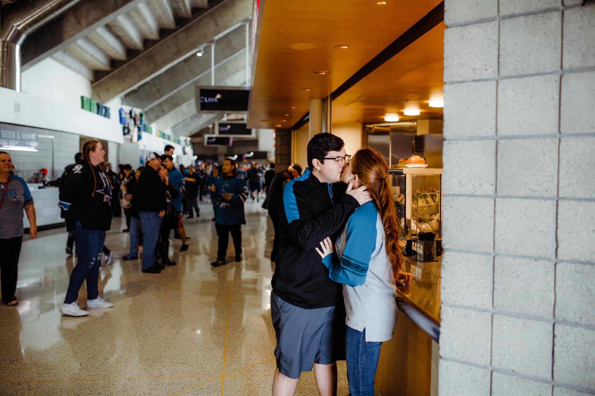 Archer Inspired Photography Inouye Engagement San Jose Sharks SAP Center Downtown Campbell Opa Lifestyle Wedding Photographer-67.jpg