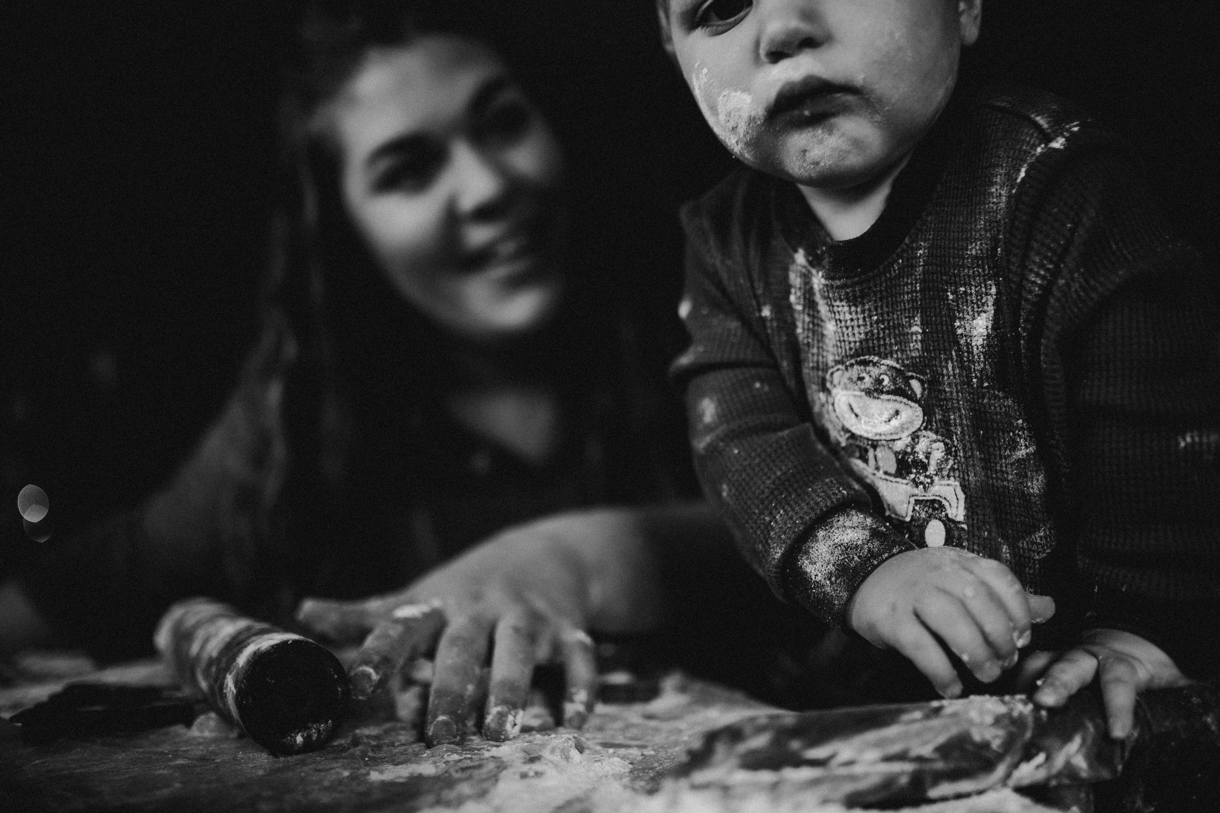 Archer Inspired Photography Mother and Son Baking Sugar Cookies Morgan Hill California Christmas Time-12.jpg