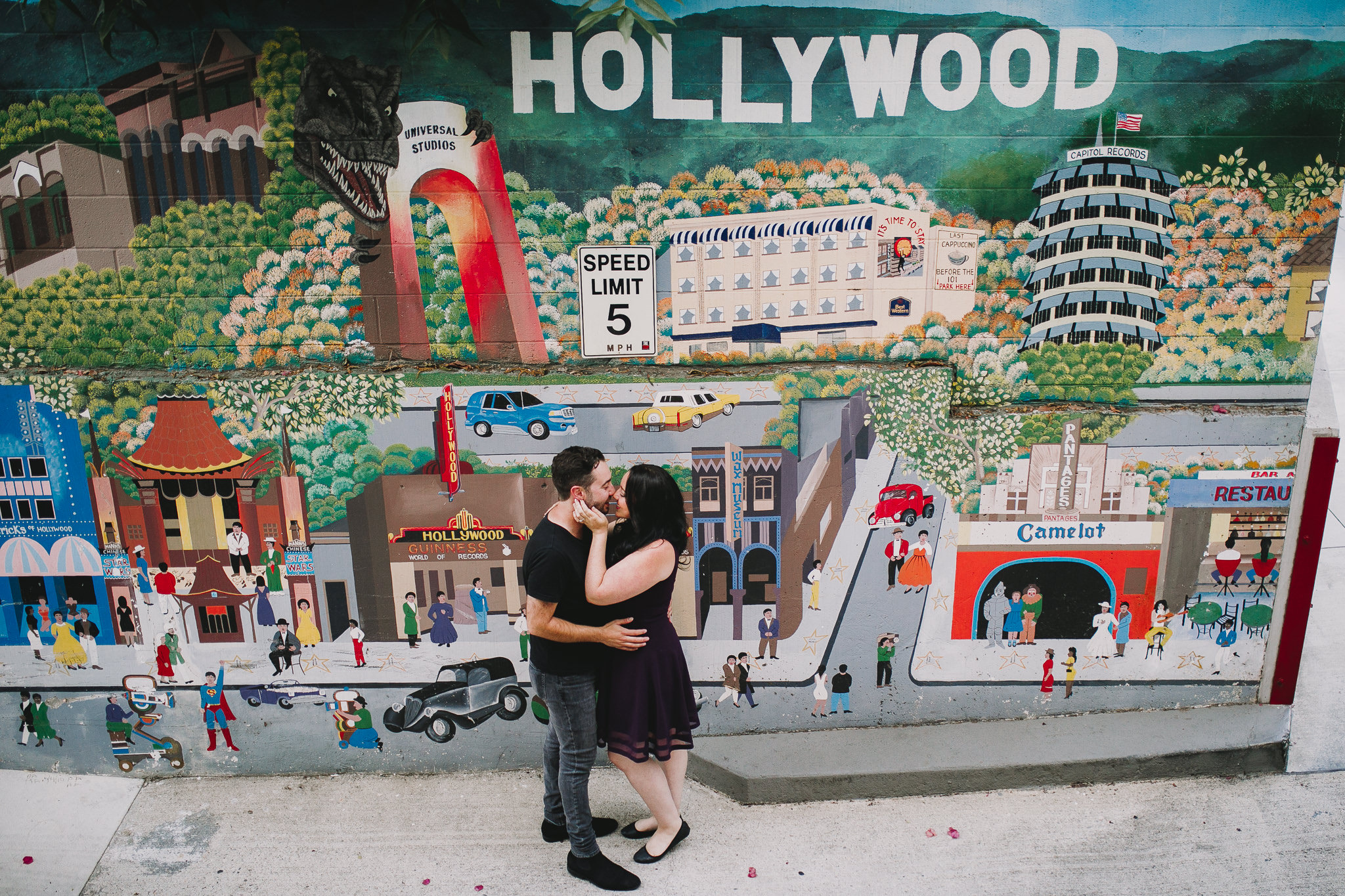 Archer Inspired Photography Los Angeles Wedding Engagement Lifestyle Documentary Griffith Observatory Downtown LA Photographer-35.jpg
