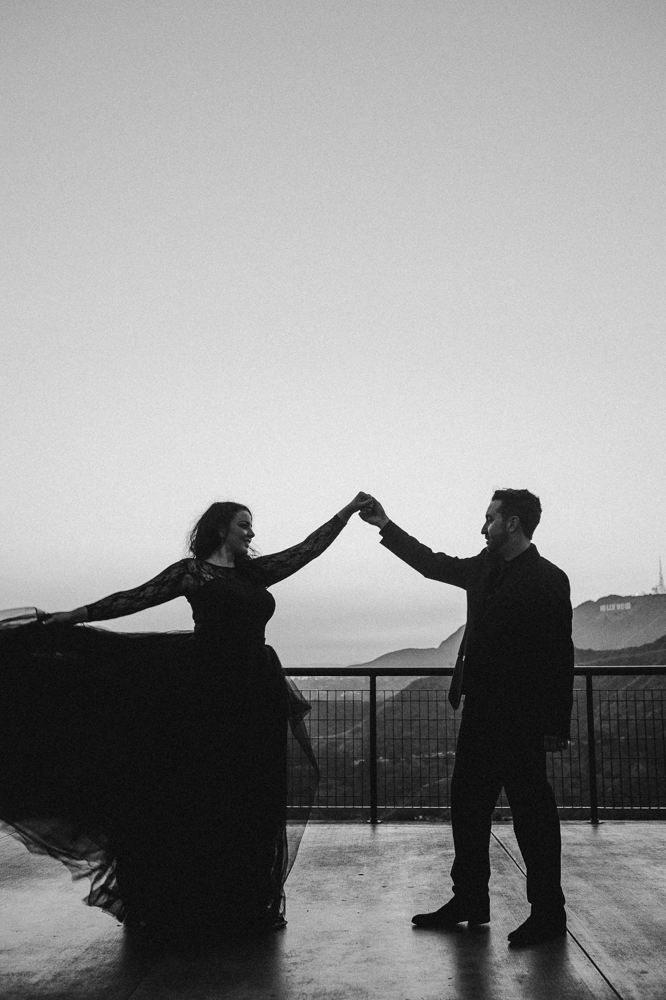 Archer Inspired Photography Los Angeles Wedding Engagement Lifestyle Documentary Griffith Observatory Downtown LA Photographer-147.jpg