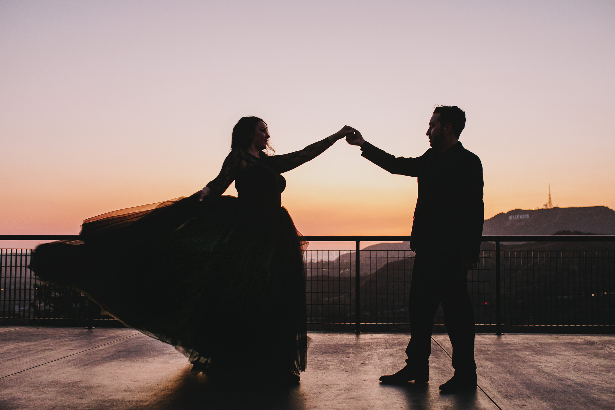 Archer Inspired Photography Los Angeles Wedding Engagement Lifestyle Documentary Griffith Observatory Downtown LA Photographer-148.jpg