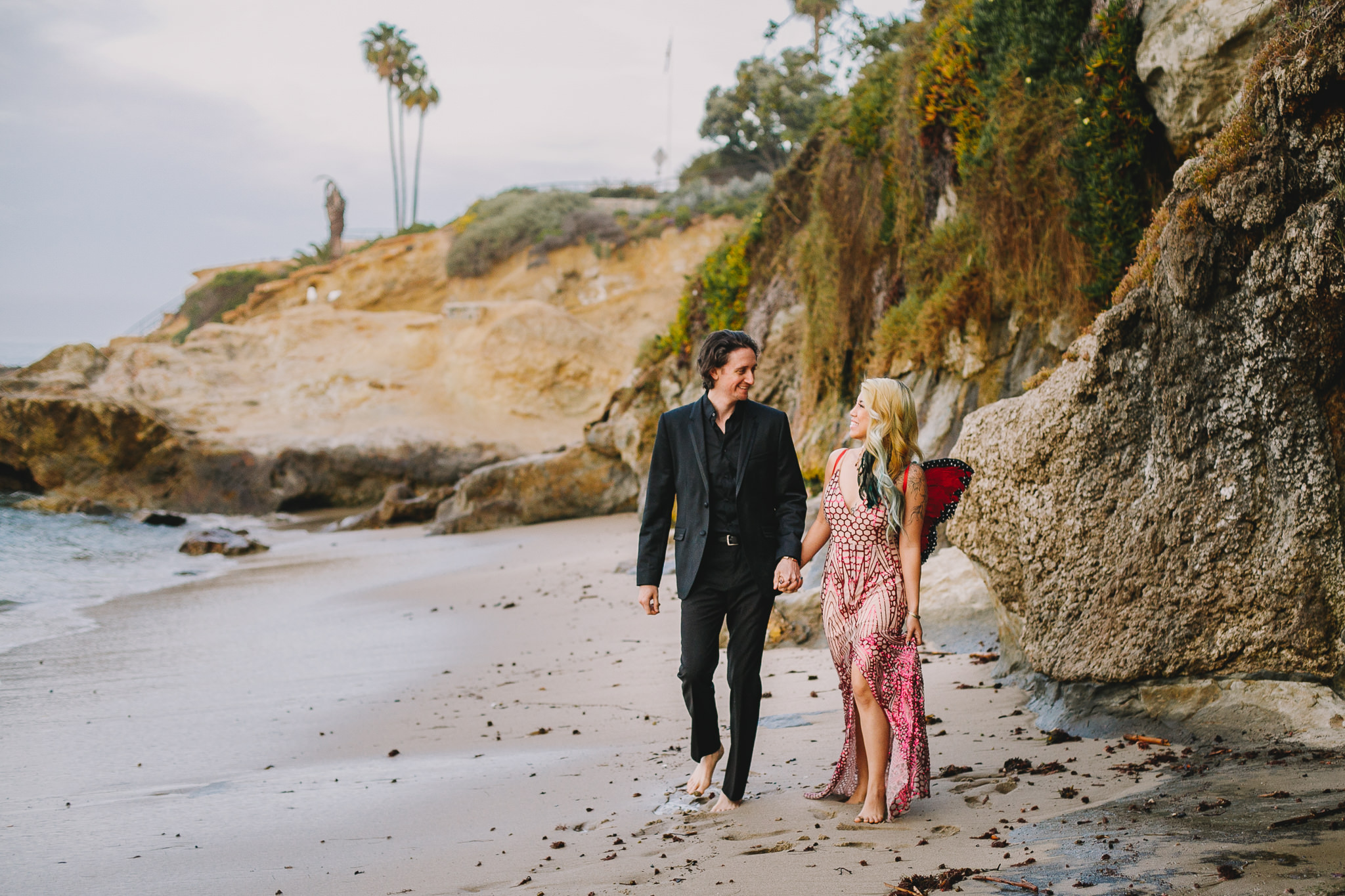 Archer Inspired Photography Amy and Kyle Wedding Engagement Session Long Beach Los Angeles California SoCal Best Top Rated Affordable Lifestyle Documentary Natural Light Fun Offbeat Unique Photographer-5.jpg