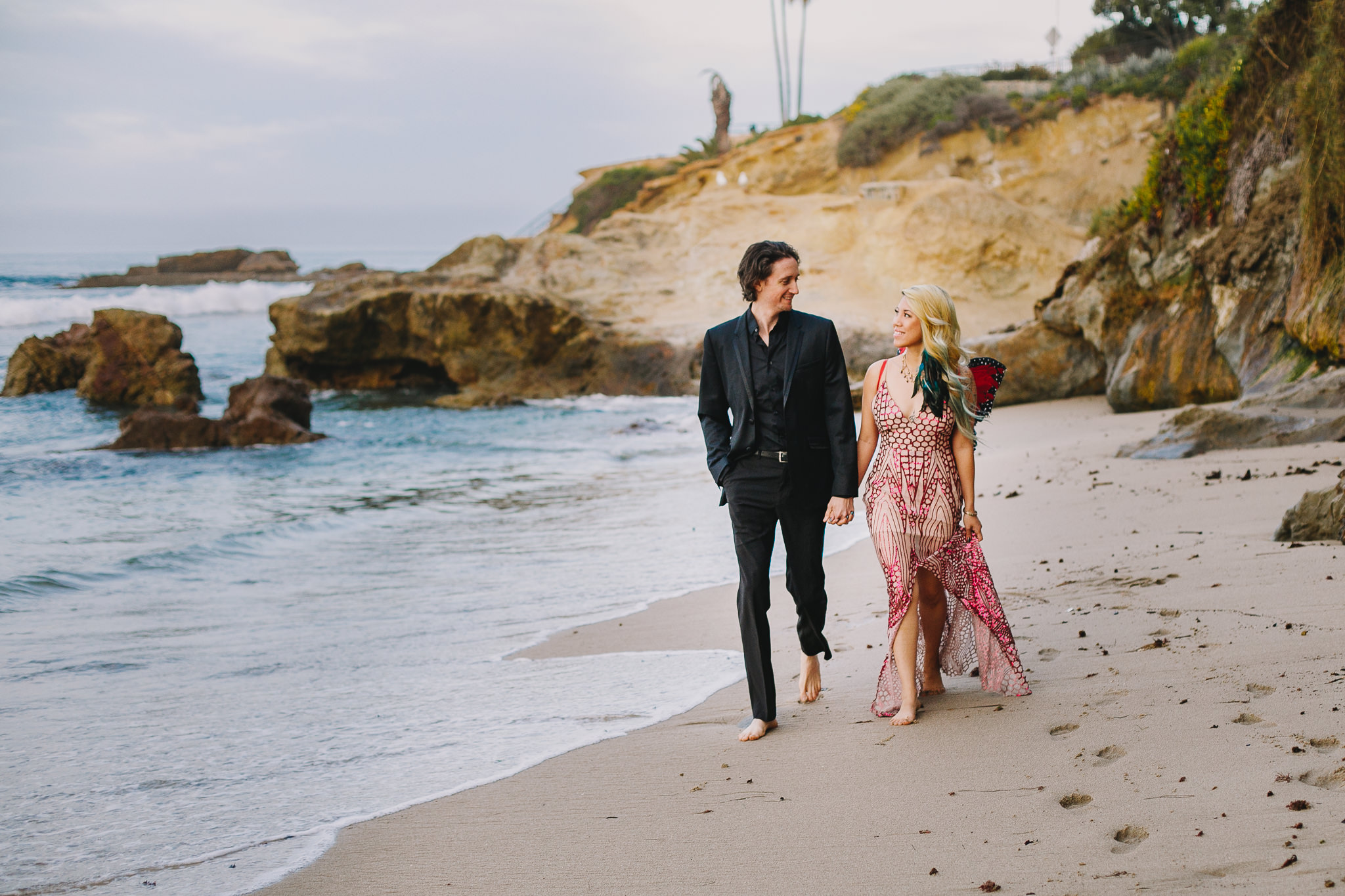 Archer Inspired Photography Amy and Kyle Wedding Engagement Session Long Beach Los Angeles California SoCal Best Top Rated Affordable Lifestyle Documentary Natural Light Fun Offbeat Unique Photographer-10.jpg
