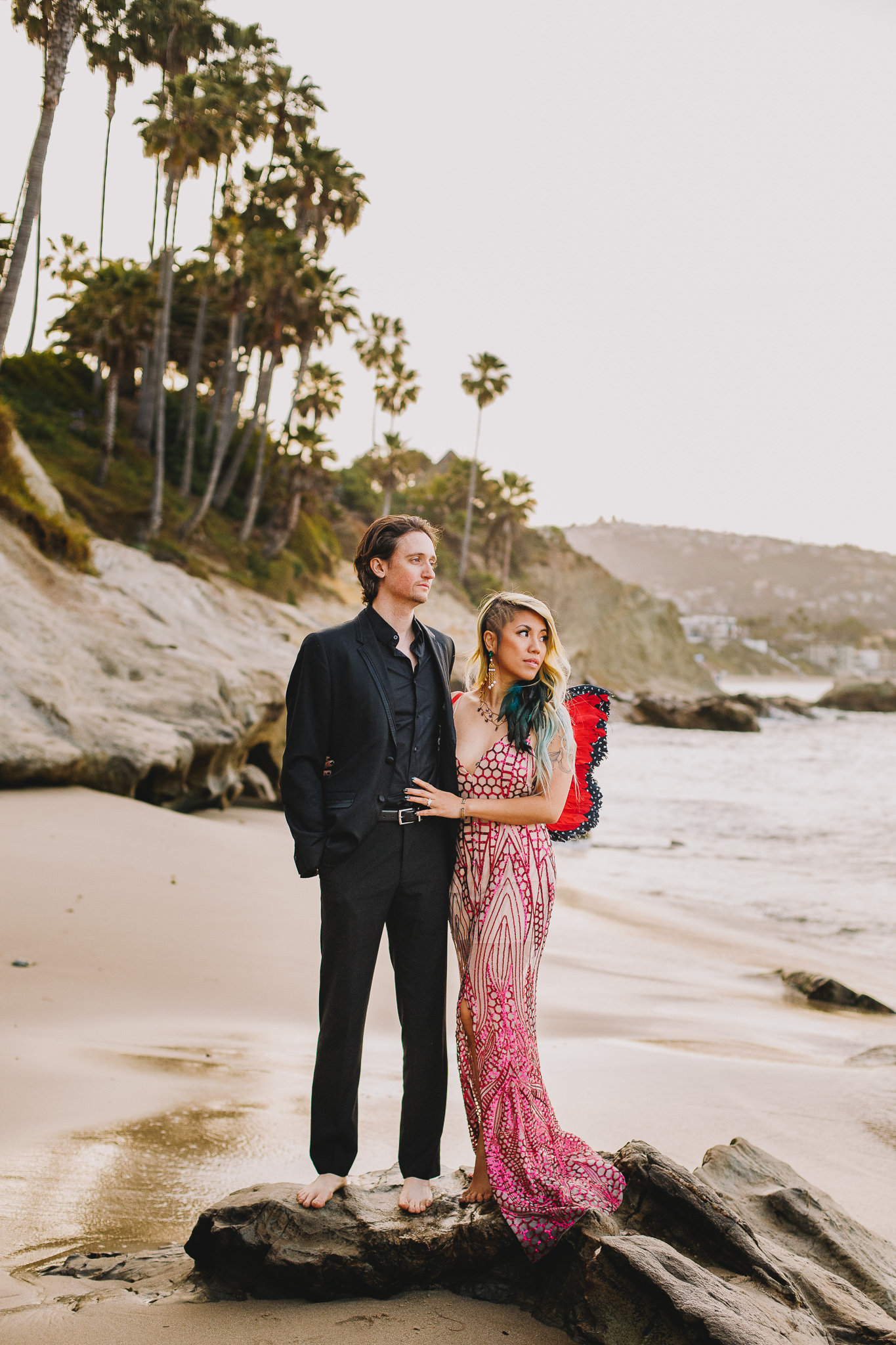 Archer Inspired Photography Amy and Kyle Wedding Engagement Session Long Beach Los Angeles California SoCal Best Top Rated Affordable Lifestyle Documentary Natural Light Fun Offbeat Unique Photographer-12.jpg