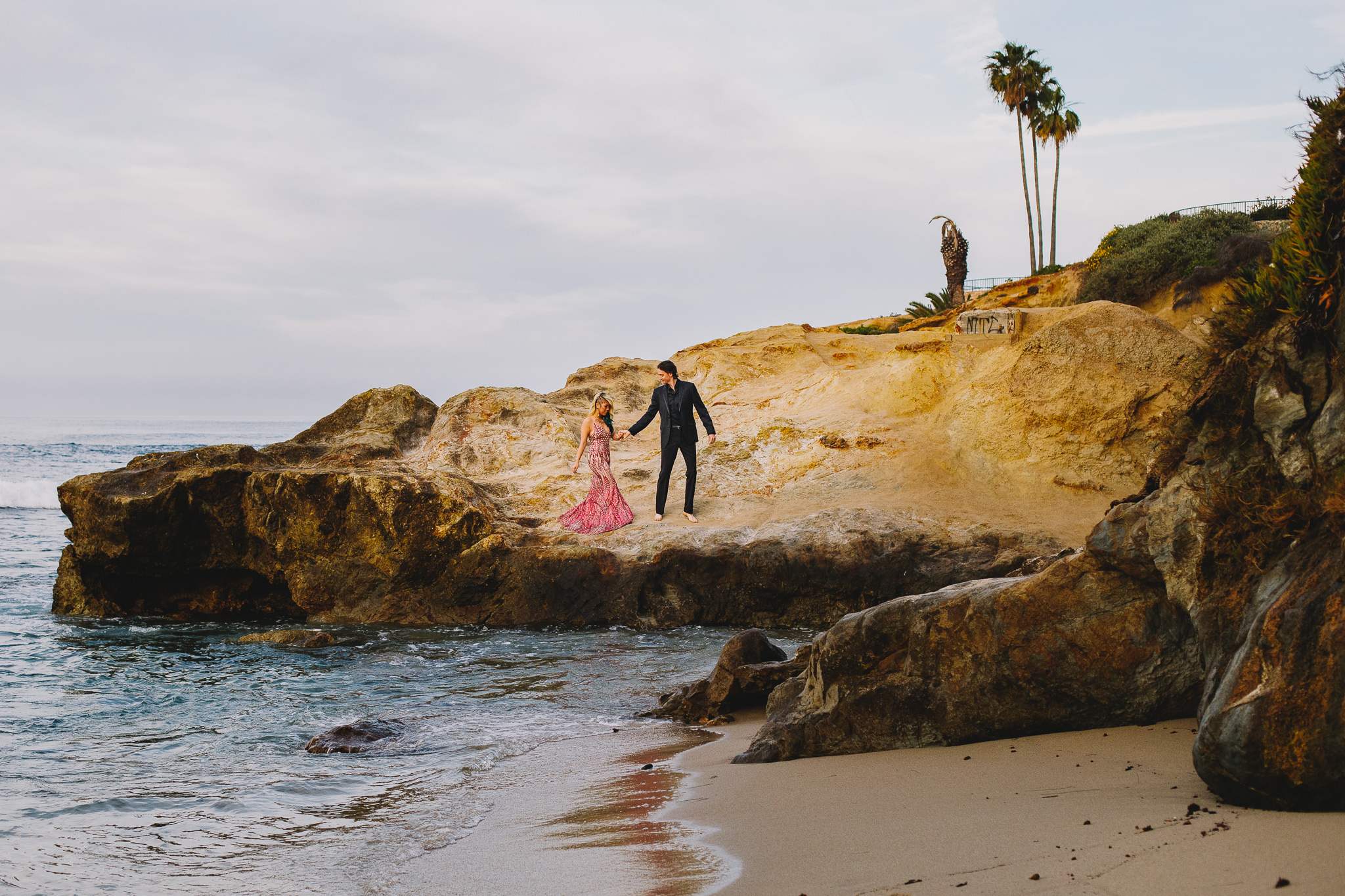 Archer Inspired Photography Amy and Kyle Wedding Engagement Session Long Beach Los Angeles California SoCal Best Top Rated Affordable Lifestyle Documentary Natural Light Fun Offbeat Unique Photographer-23.jpg