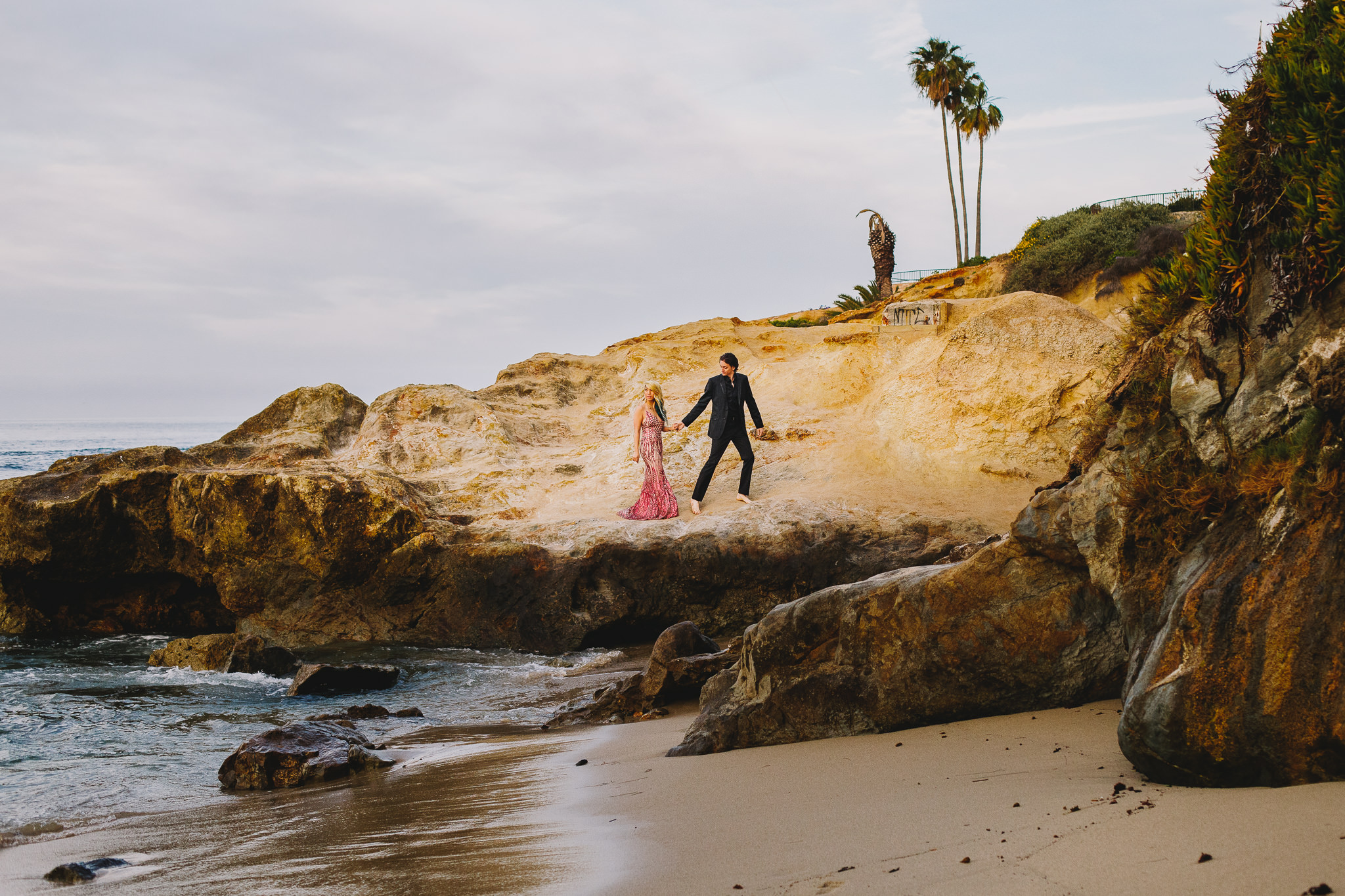 Archer Inspired Photography Amy and Kyle Wedding Engagement Session Long Beach Los Angeles California SoCal Best Top Rated Affordable Lifestyle Documentary Natural Light Fun Offbeat Unique Photographer-24.jpg