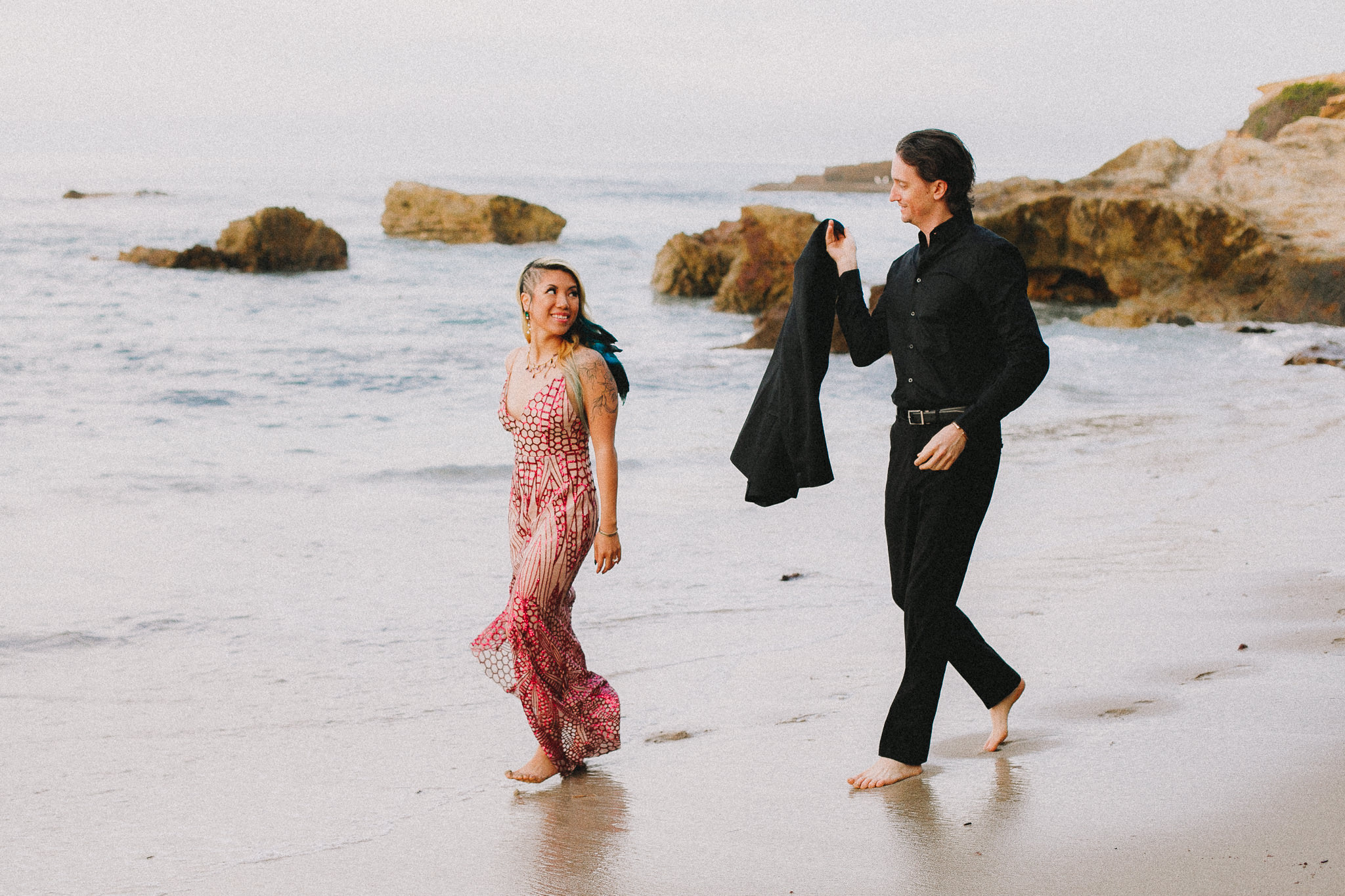 Archer Inspired Photography Amy and Kyle Wedding Engagement Session Long Beach Los Angeles California SoCal Best Top Rated Affordable Lifestyle Documentary Natural Light Fun Offbeat Unique Photographer-29.jpg