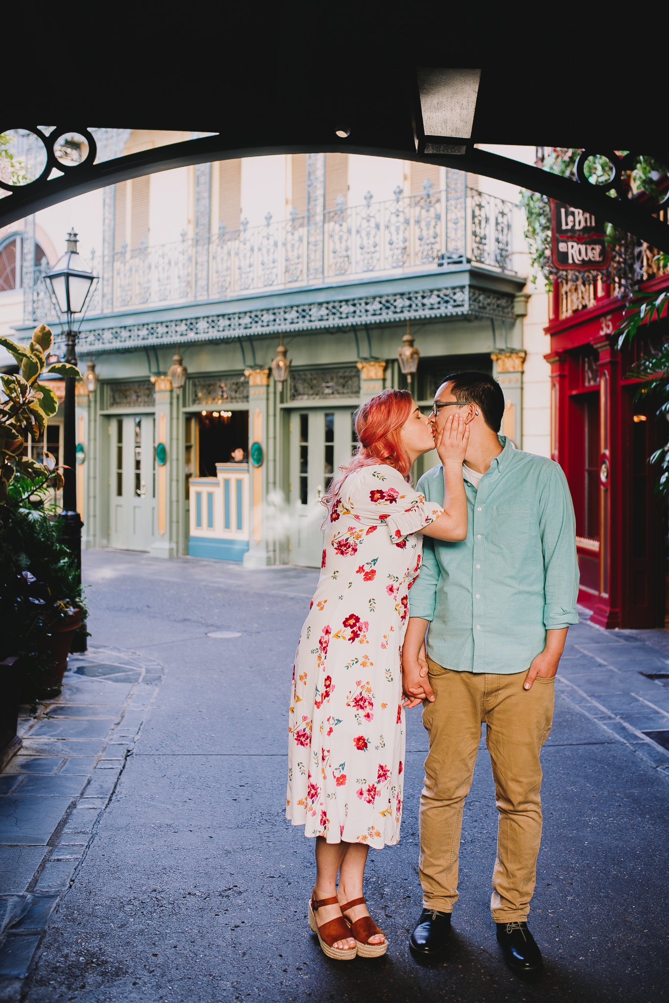 Archer Inspired Photography Disneyland Engagement Wedding Session Southern California Kayla and Kevin Lifestyle Documentary-4.jpg