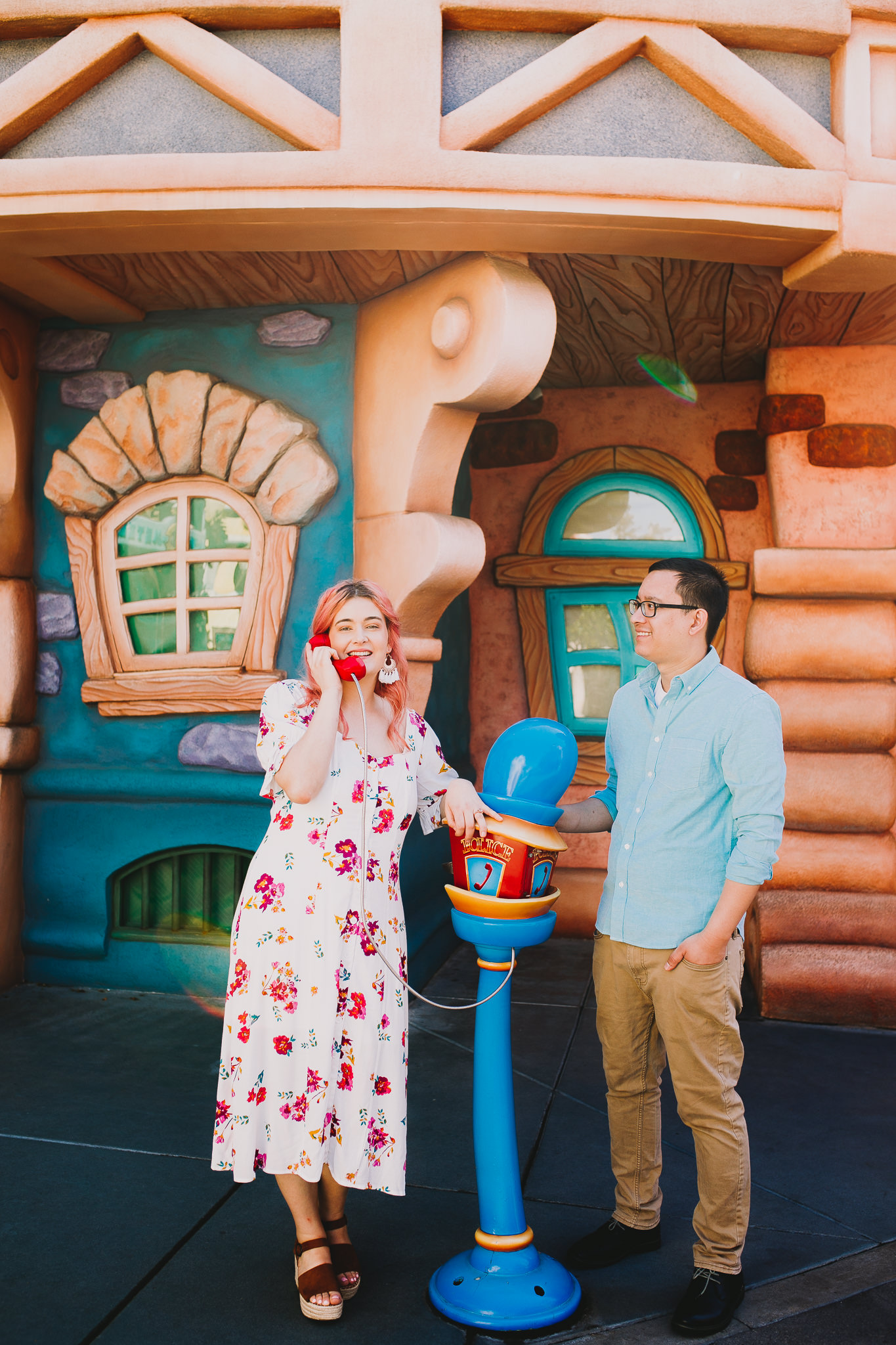 Archer Inspired Photography Disneyland Engagement Wedding Session Southern California Kayla and Kevin Lifestyle Documentary-72.jpg