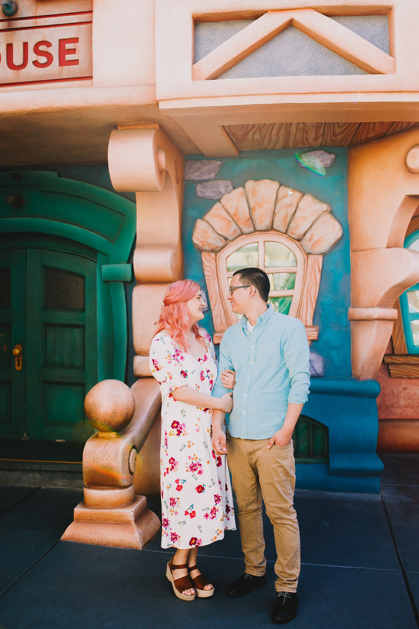 Archer Inspired Photography Disneyland Engagement Wedding Session Southern California Kayla and Kevin Lifestyle Documentary-73.jpg