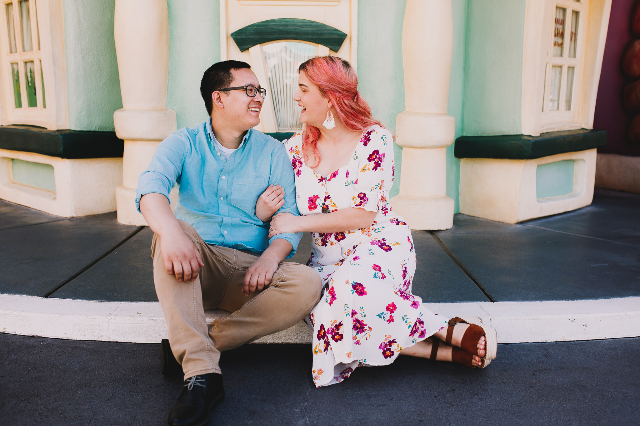 Archer Inspired Photography Disneyland Engagement Wedding Session Southern California Kayla and Kevin Lifestyle Documentary-79.jpg