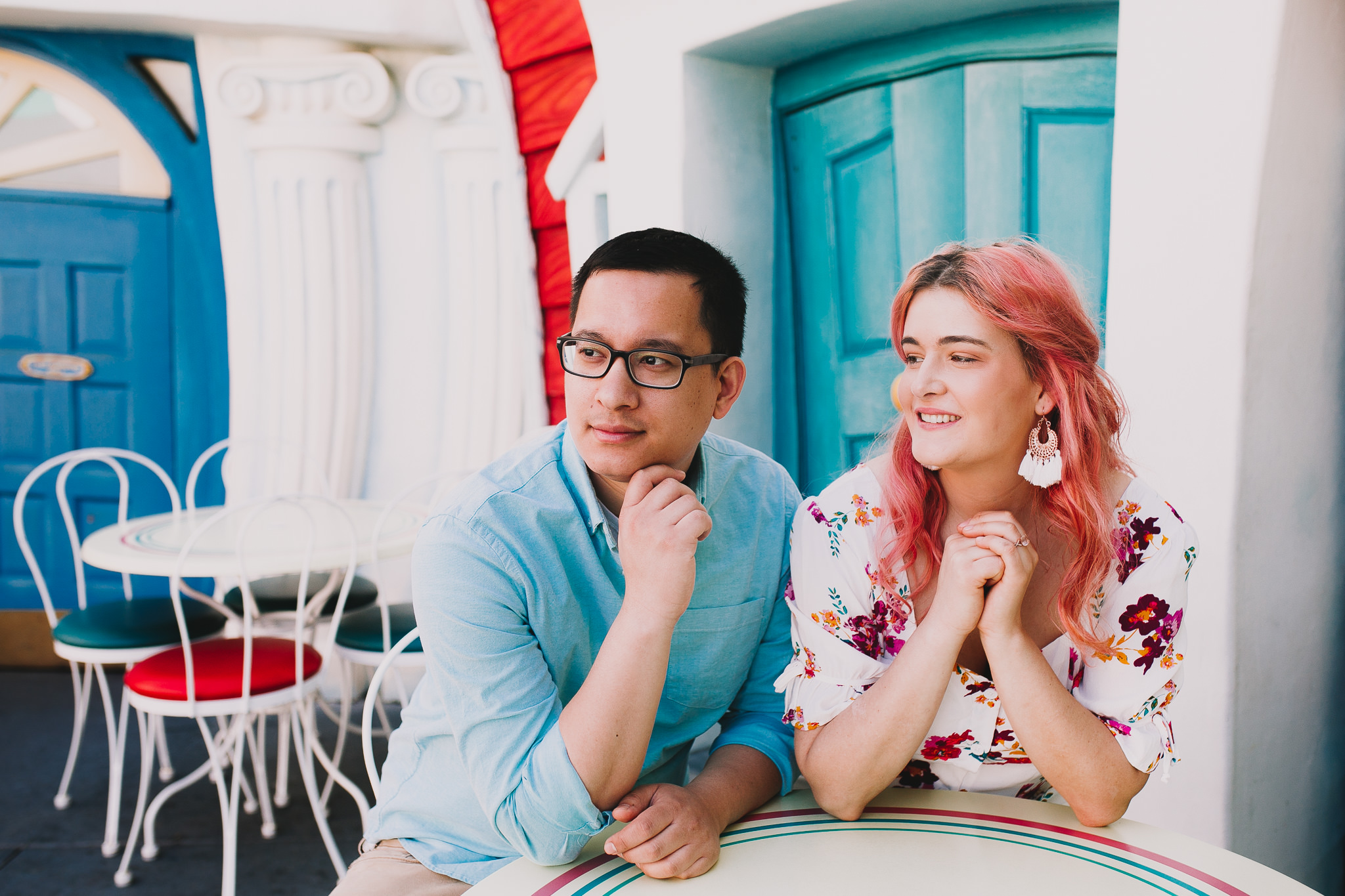 Archer Inspired Photography Disneyland Engagement Wedding Session Southern California Kayla and Kevin Lifestyle Documentary-80.jpg