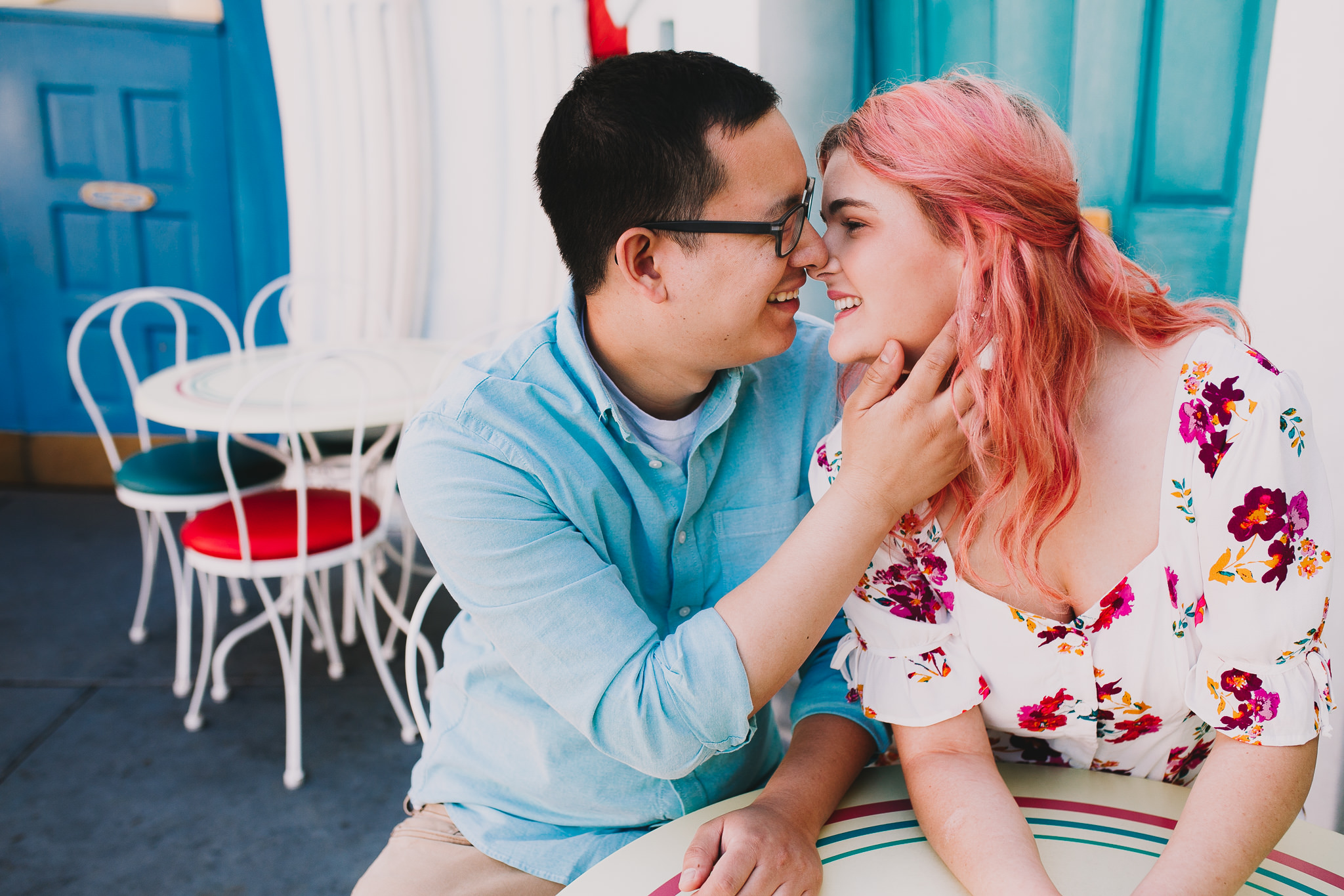 Archer Inspired Photography Disneyland Engagement Wedding Session Southern California Kayla and Kevin Lifestyle Documentary-87.jpg