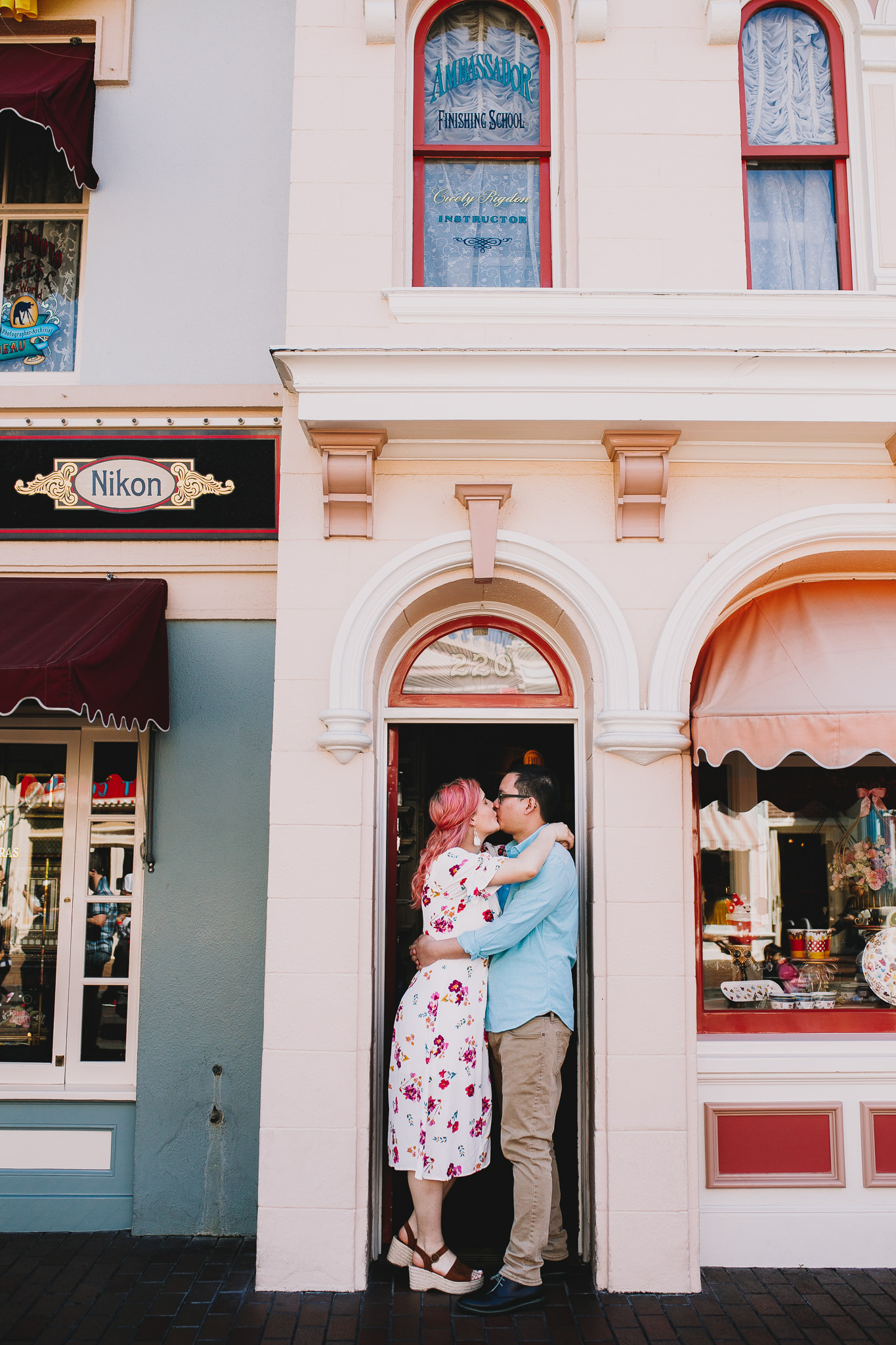 Archer Inspired Photography Disneyland Engagement Wedding Session Southern California Kayla and Kevin Lifestyle Documentary-113.jpg