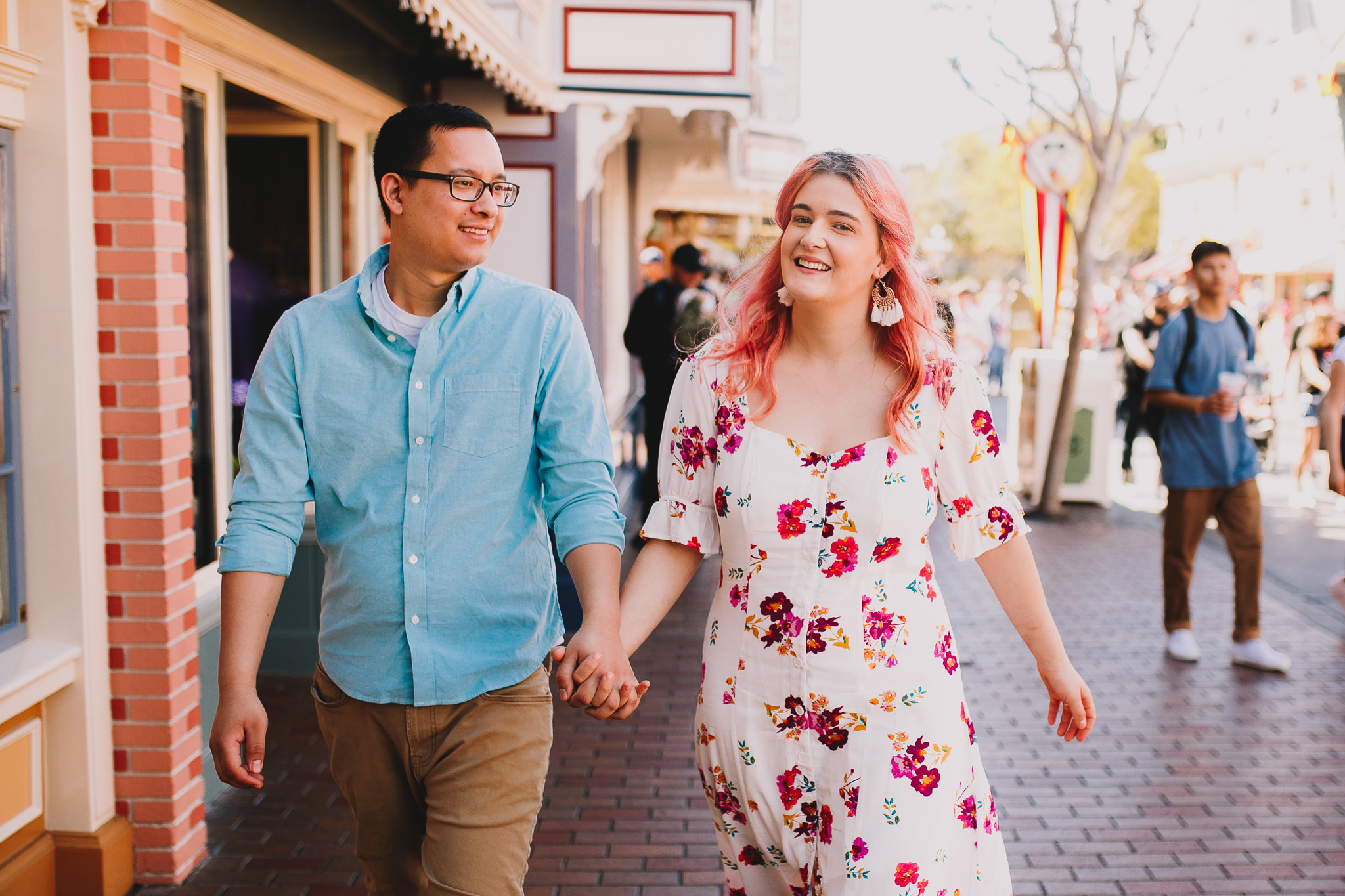 Archer Inspired Photography Disneyland Engagement Wedding Session Southern California Kayla and Kevin Lifestyle Documentary-154.jpg