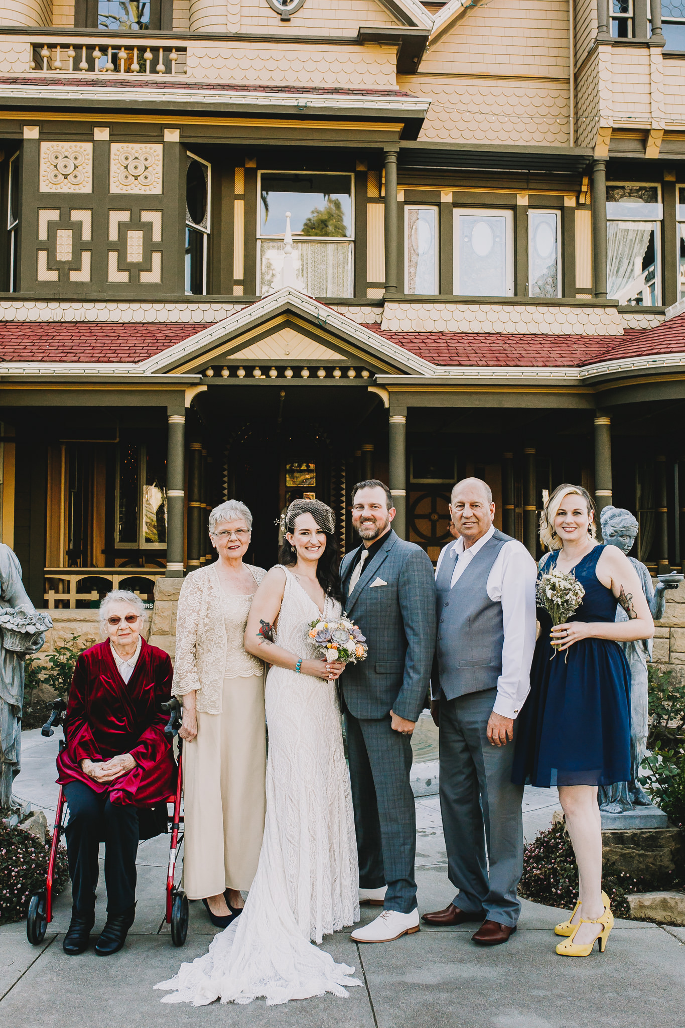 Archer Inspired Photography Sara and Aaron Winchester Mystery House NorCal San Jose California Wedding Photographer-219.jpg