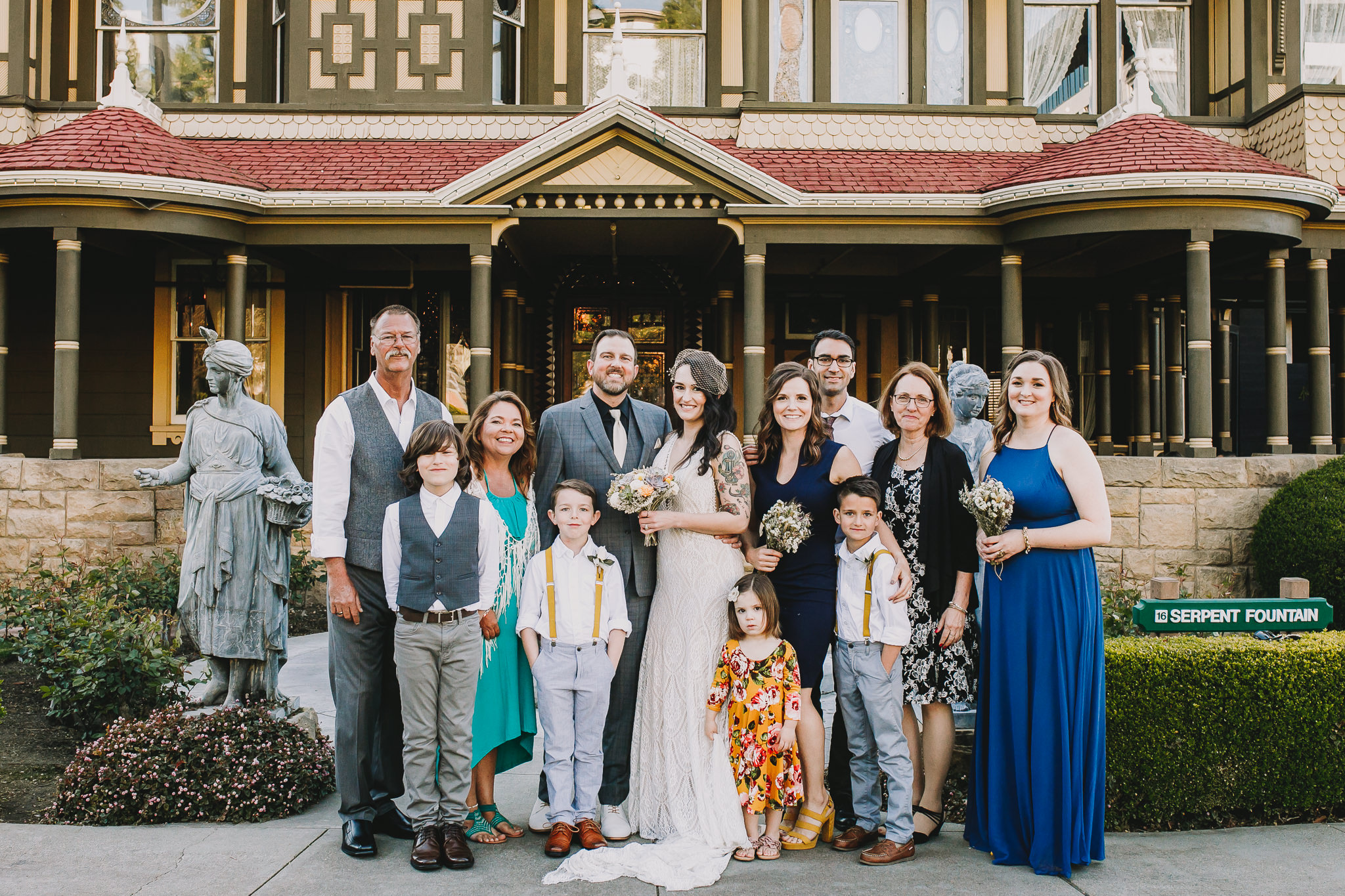 Archer Inspired Photography Sara and Aaron Winchester Mystery House NorCal San Jose California Wedding Photographer-236.jpg