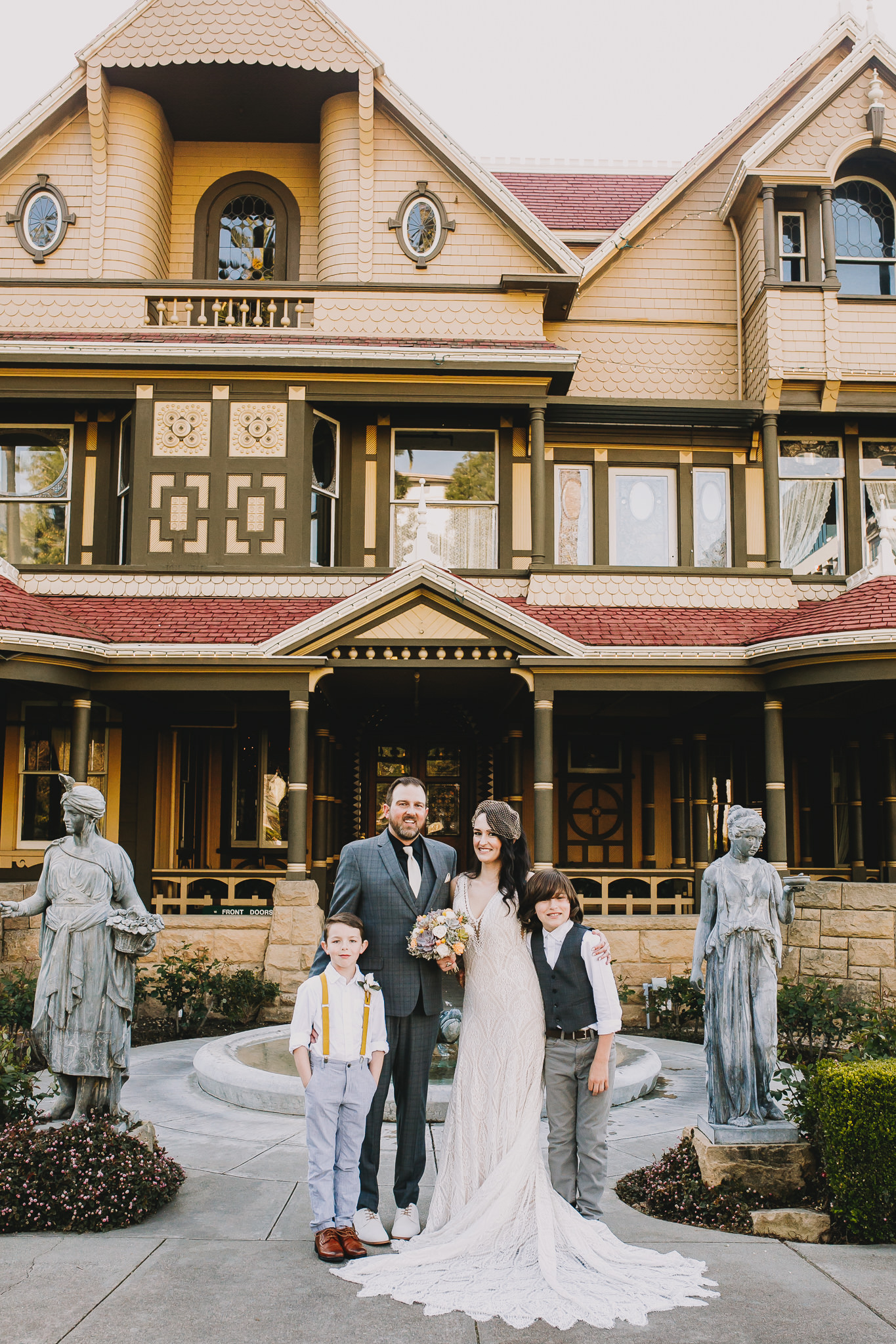 Archer Inspired Photography Sara and Aaron Winchester Mystery House NorCal San Jose California Wedding Photographer-243.jpg