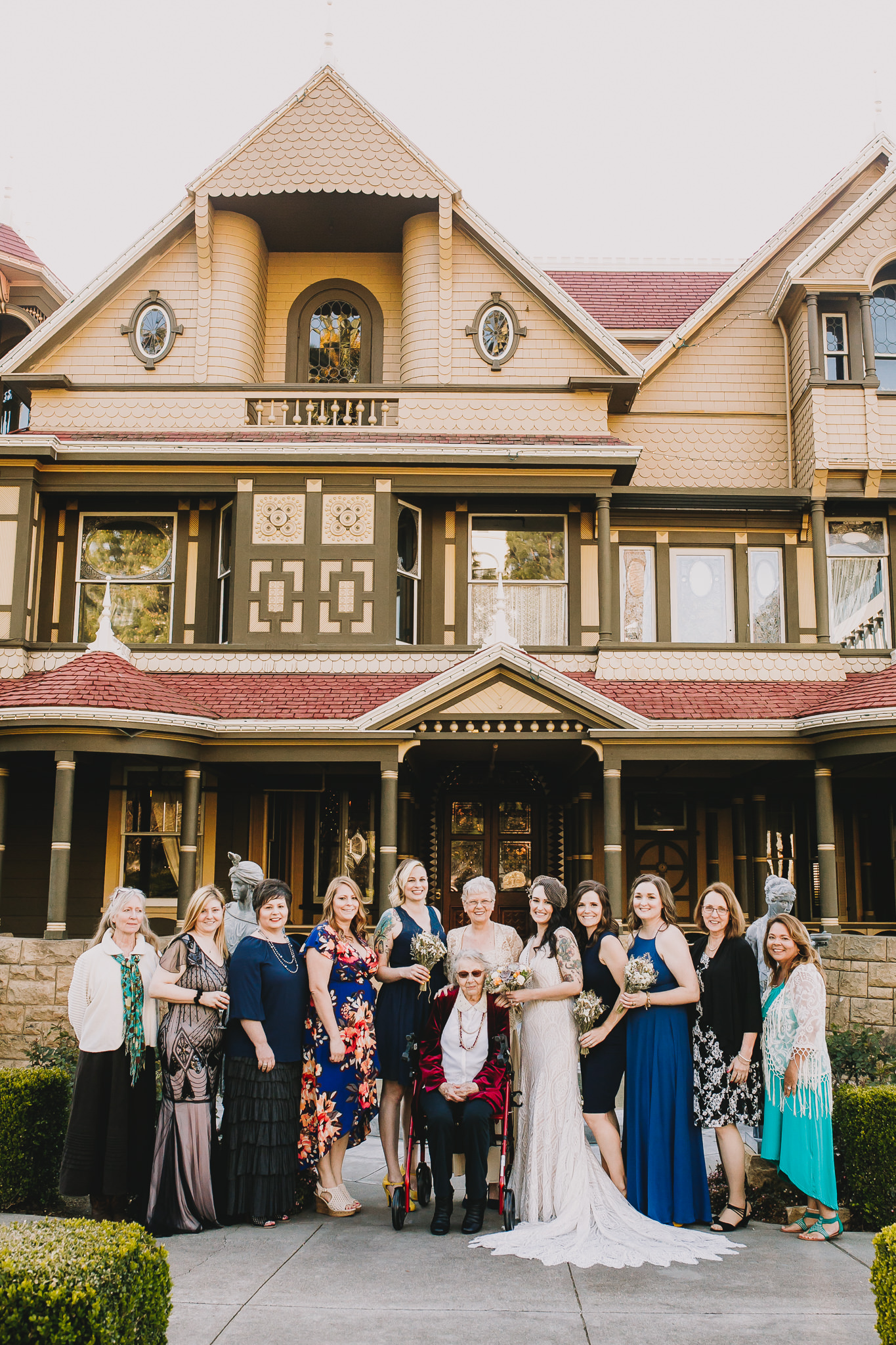 Archer Inspired Photography Sara and Aaron Winchester Mystery House NorCal San Jose California Wedding Photographer-253.jpg