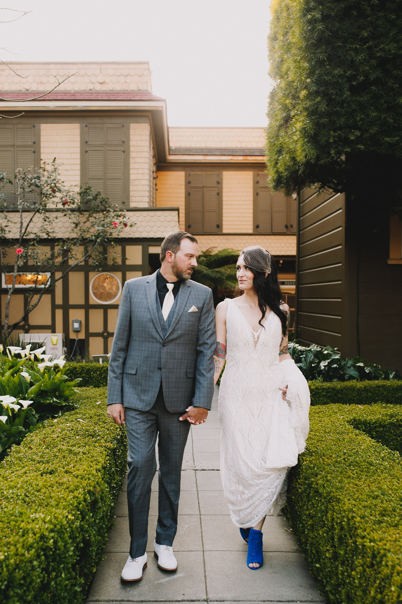 Archer Inspired Photography Sara and Aaron Winchester Mystery House NorCal San Jose California Wedding Photographer-390.jpg
