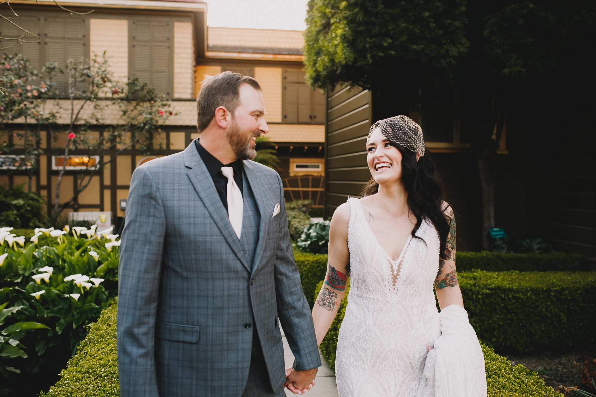 Archer Inspired Photography Sara and Aaron Winchester Mystery House NorCal San Jose California Wedding Photographer-393.jpg