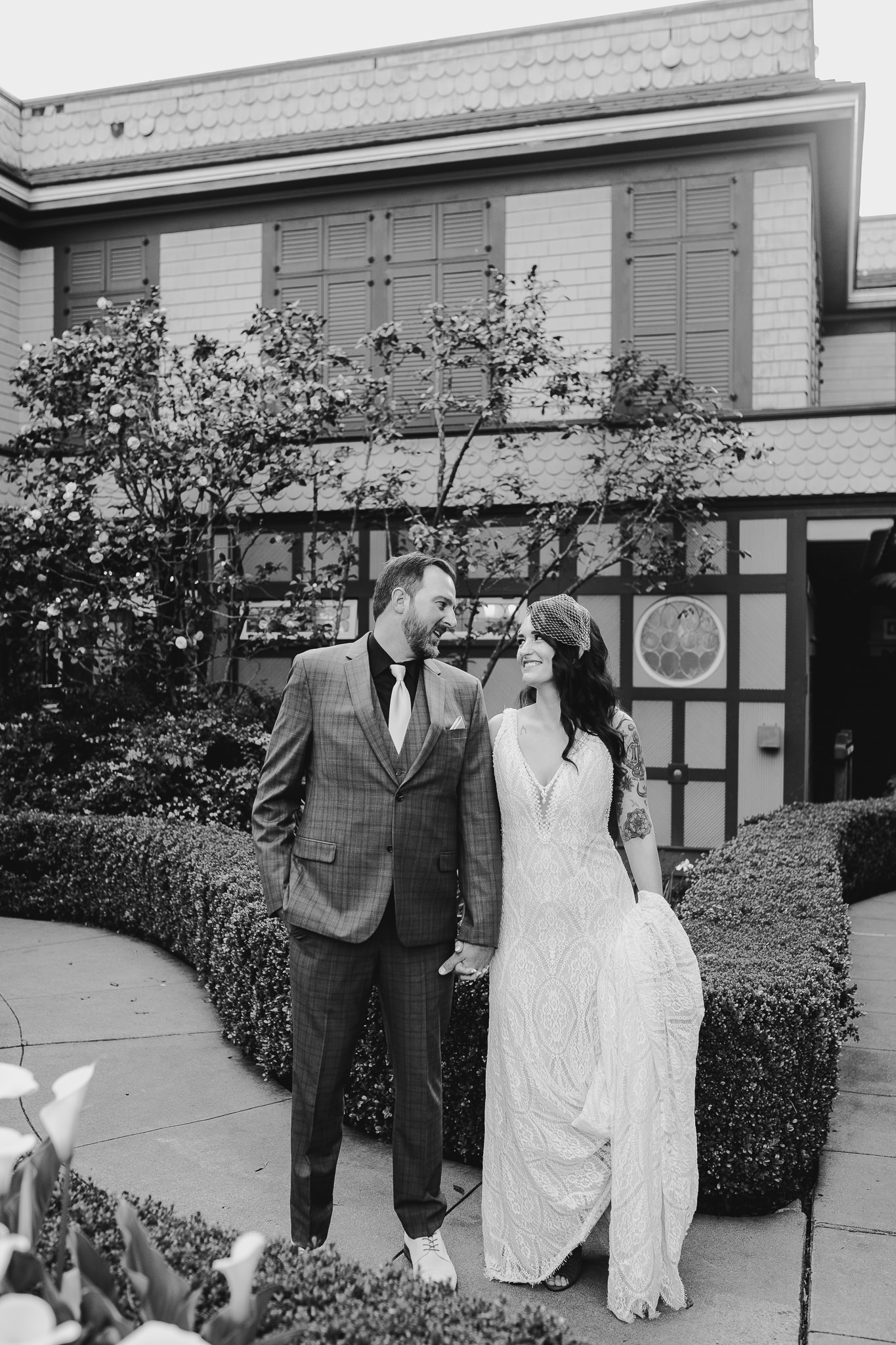 Archer Inspired Photography Sara and Aaron Winchester Mystery House NorCal San Jose California Wedding Photographer-397.jpg