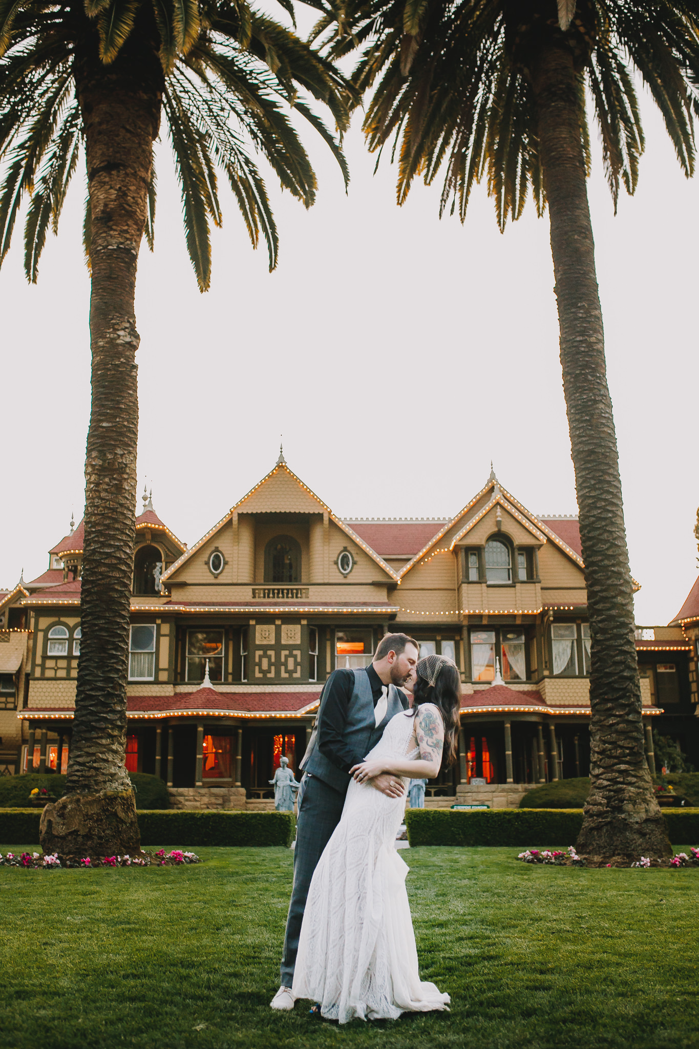Archer Inspired Photography Sara and Aaron Winchester Mystery House NorCal San Jose California Wedding Photographer-510.jpg