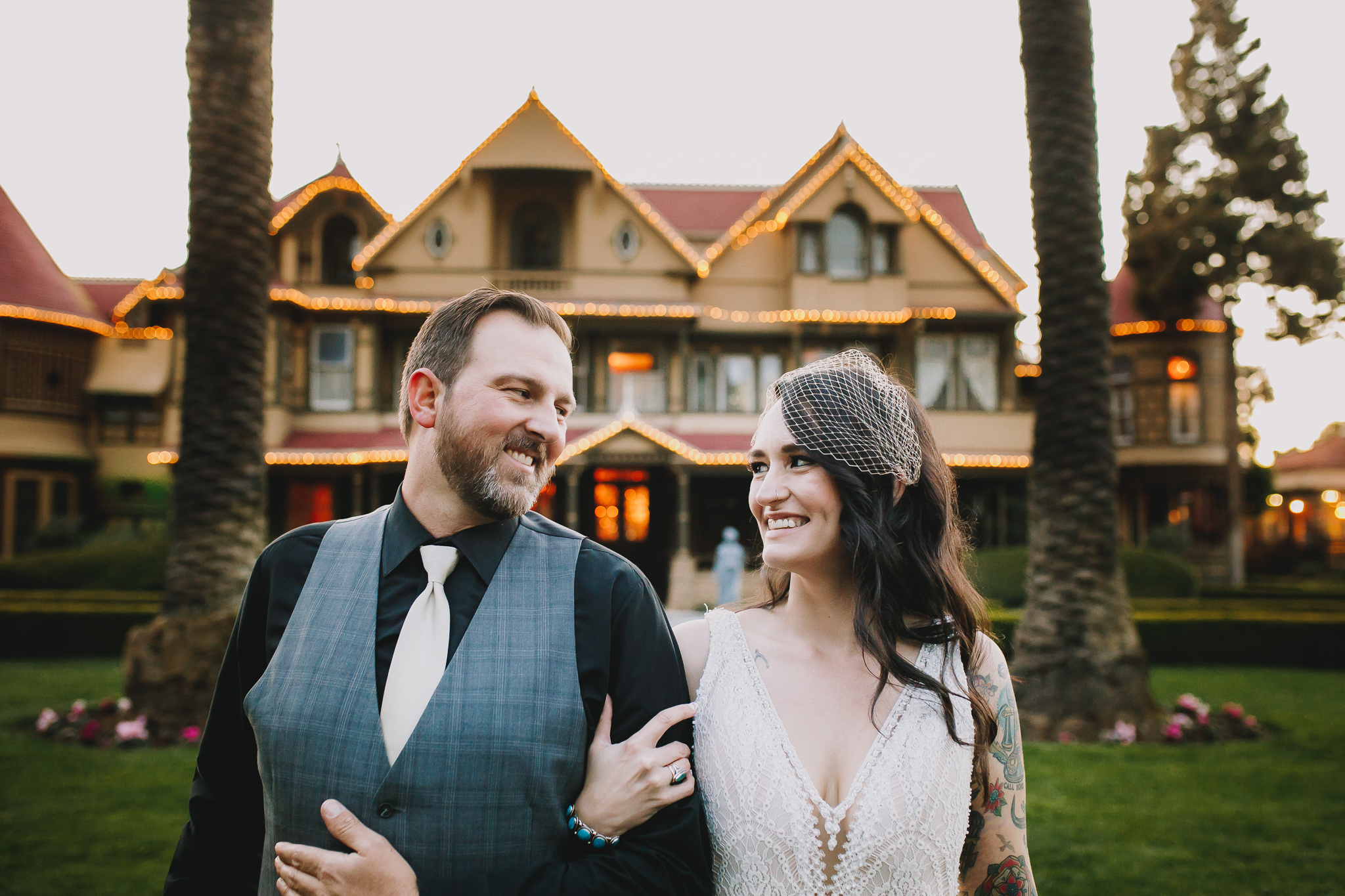 Archer Inspired Photography Sara and Aaron Winchester Mystery House NorCal San Jose California Wedding Photographer-515.jpg