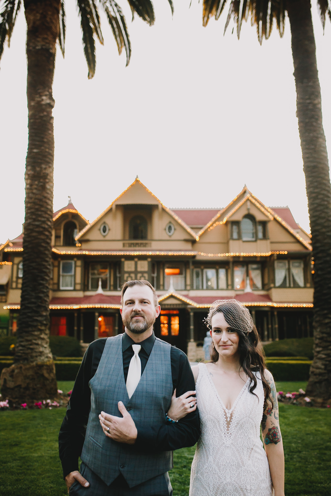 Archer Inspired Photography Sara and Aaron Winchester Mystery House NorCal San Jose California Wedding Photographer-517.jpg