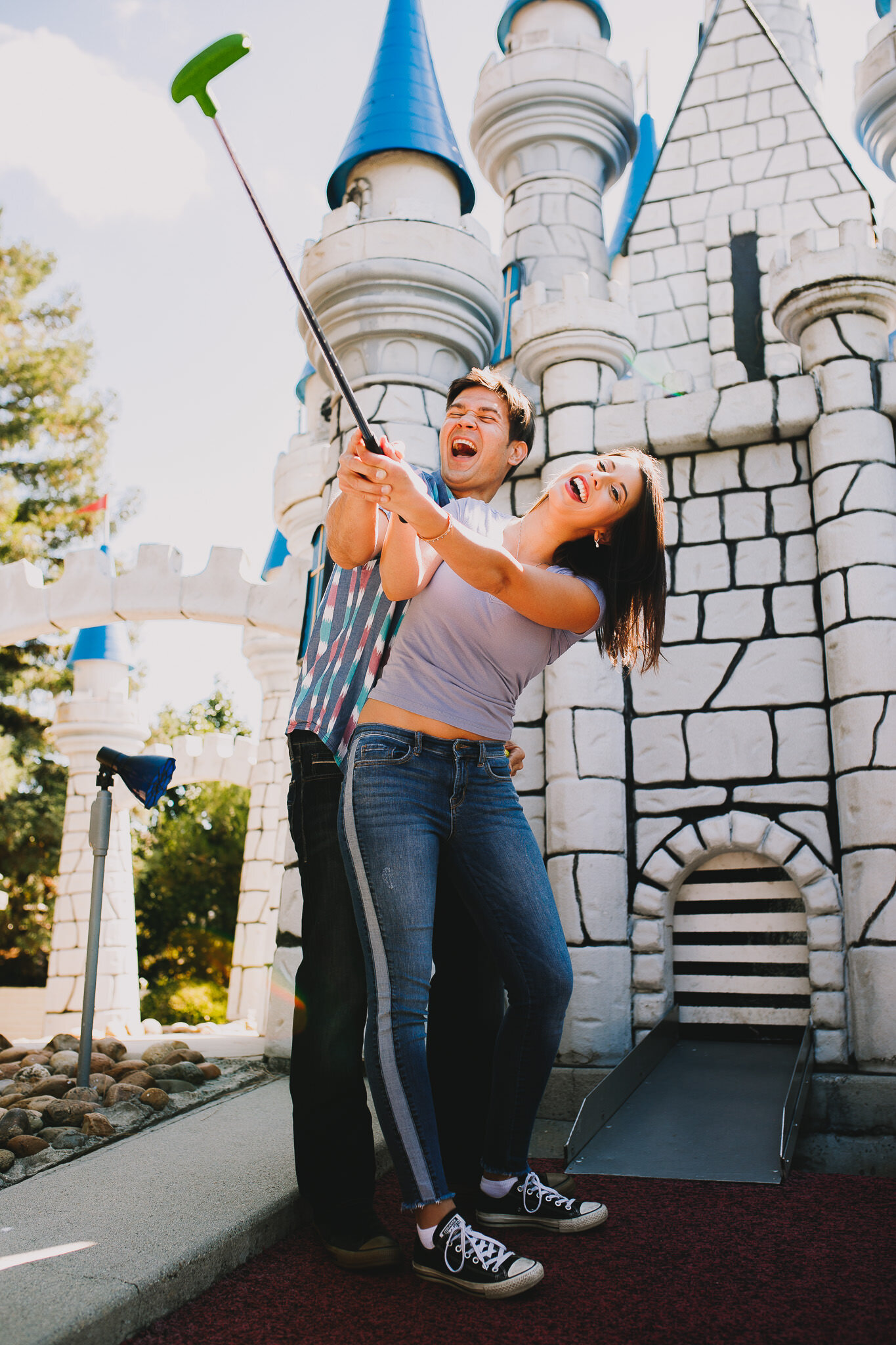 Archer Inspired Photography - Milpitas CA Golfland and Park Engagmenet Session - SoCal Wedding Photographer Long Beach LA-37.jpg