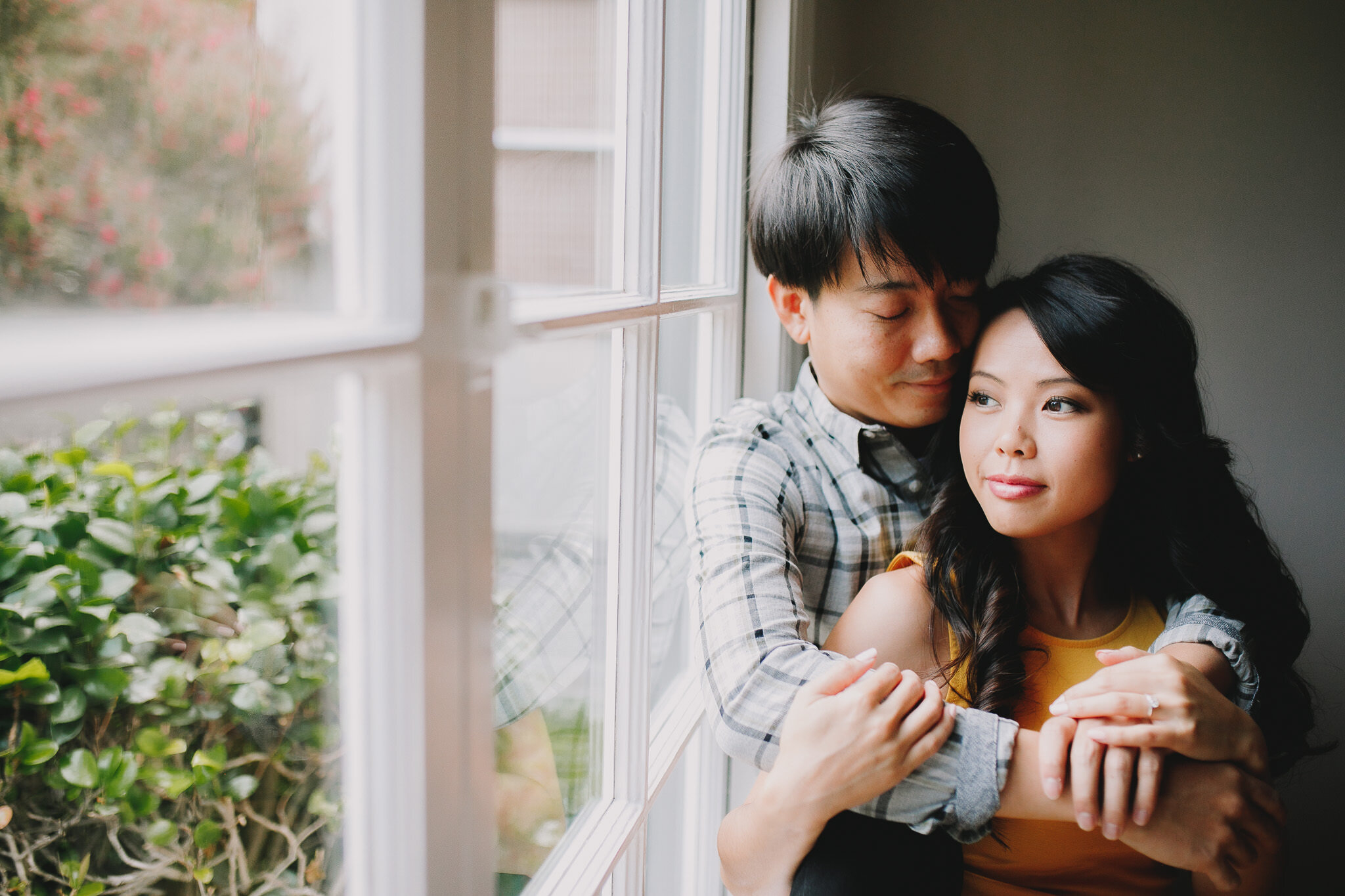 Archer Inspired Photography - San Leandro California Engagement Session - in Home Lifestyle - Pizza Parlor Date - SoCal Photographer-38.jpg