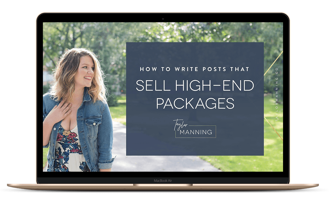 How to Write Posts That Sell High-End Coaching Packages - Free Video Workshop
