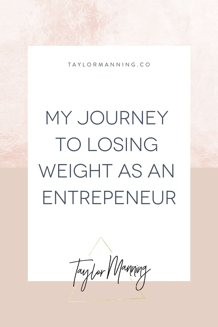 My Journey to Losing Weight as an Entrepreneur