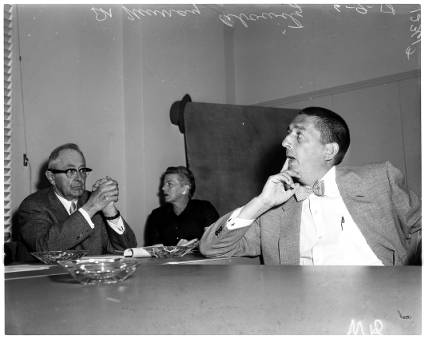 Dr Murray Abowitz at the HUAC Hearing