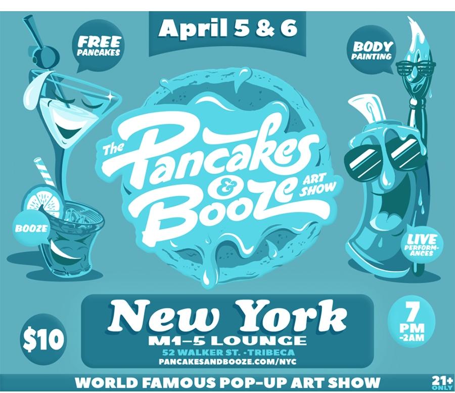 Pancakes & Booze NYC