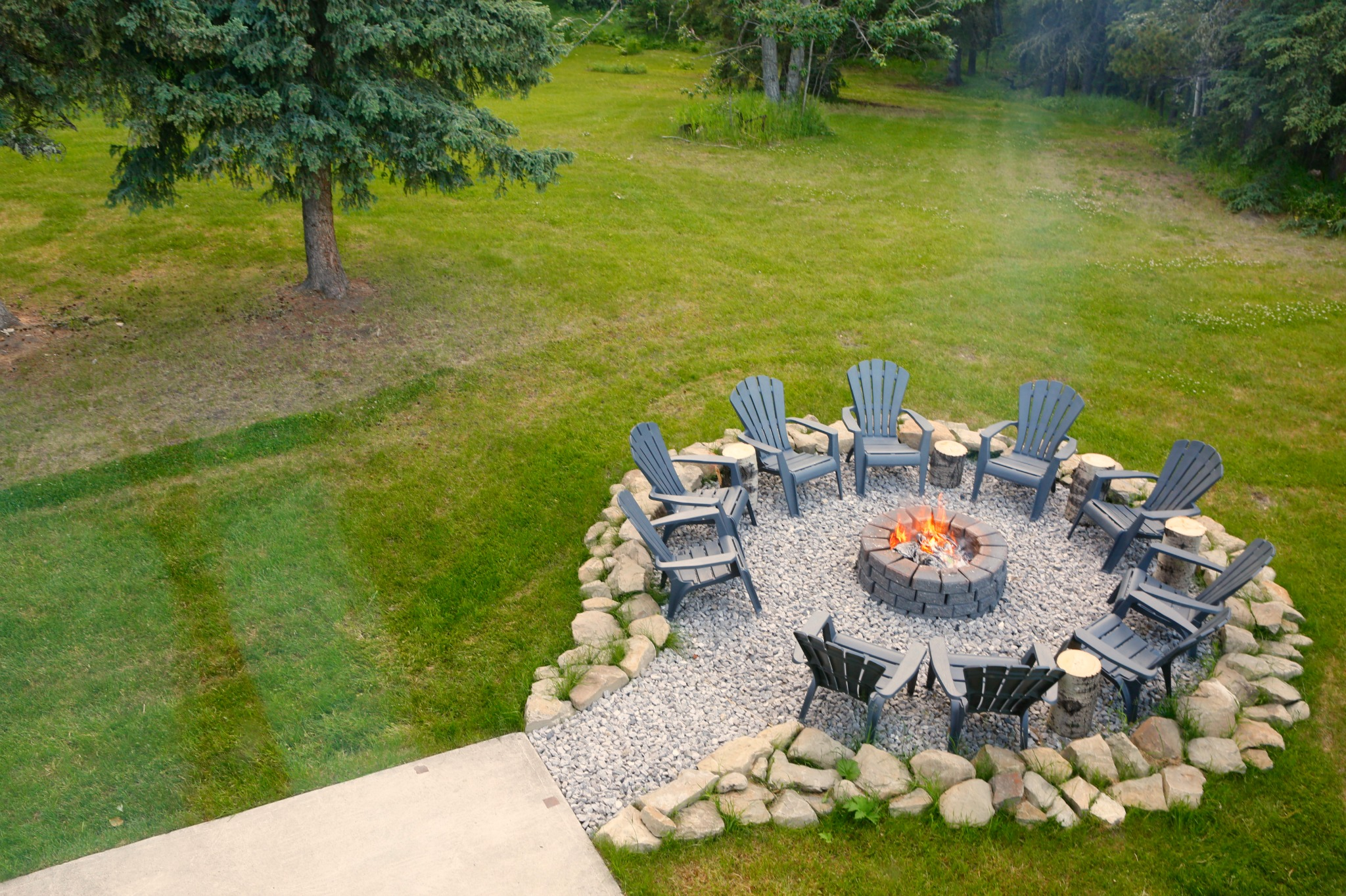 SLeepyCreekBB_Bragg Creek_Fire Pit from Library.jpg